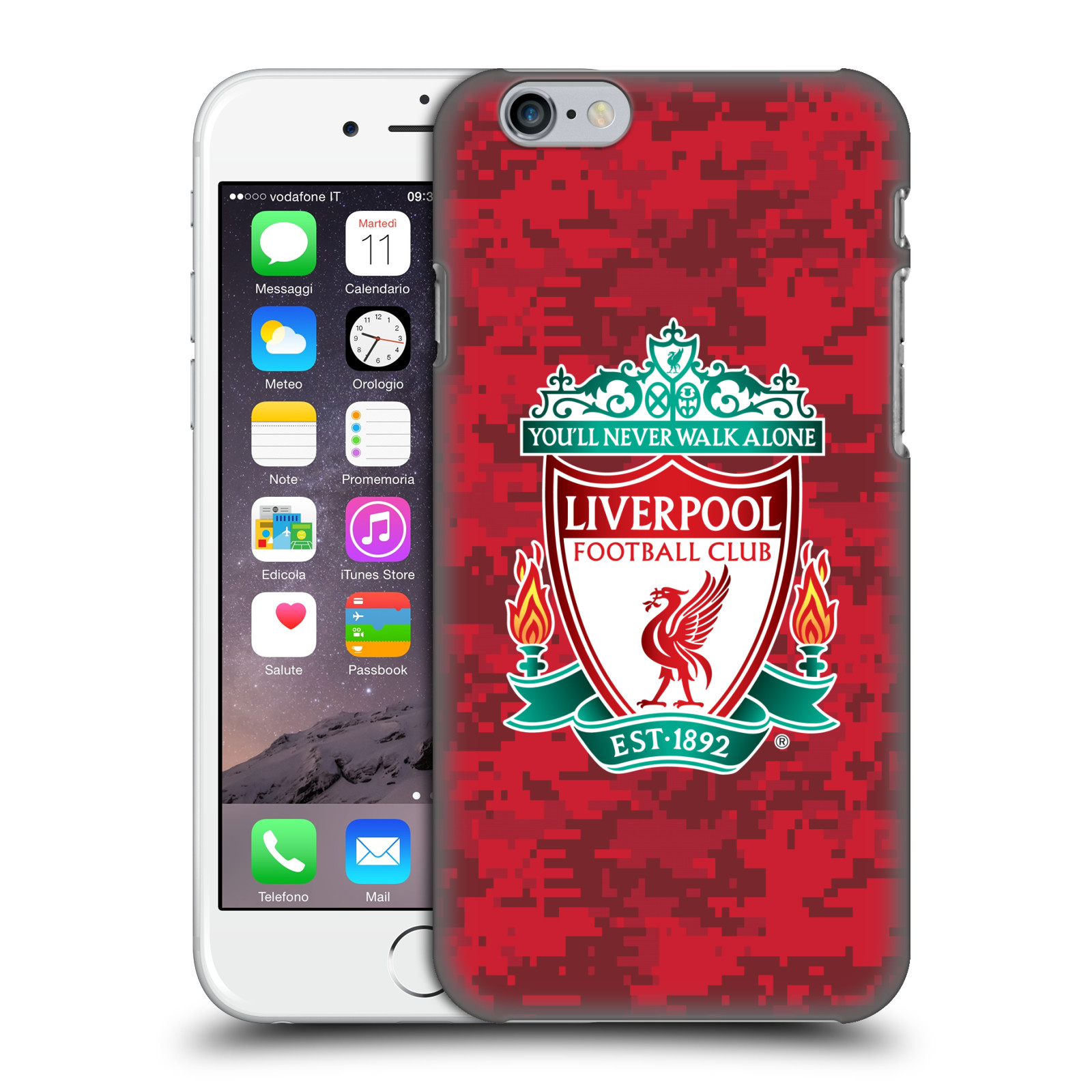 Liverpool FC LFC Digital Camouflage-Home Red Crest