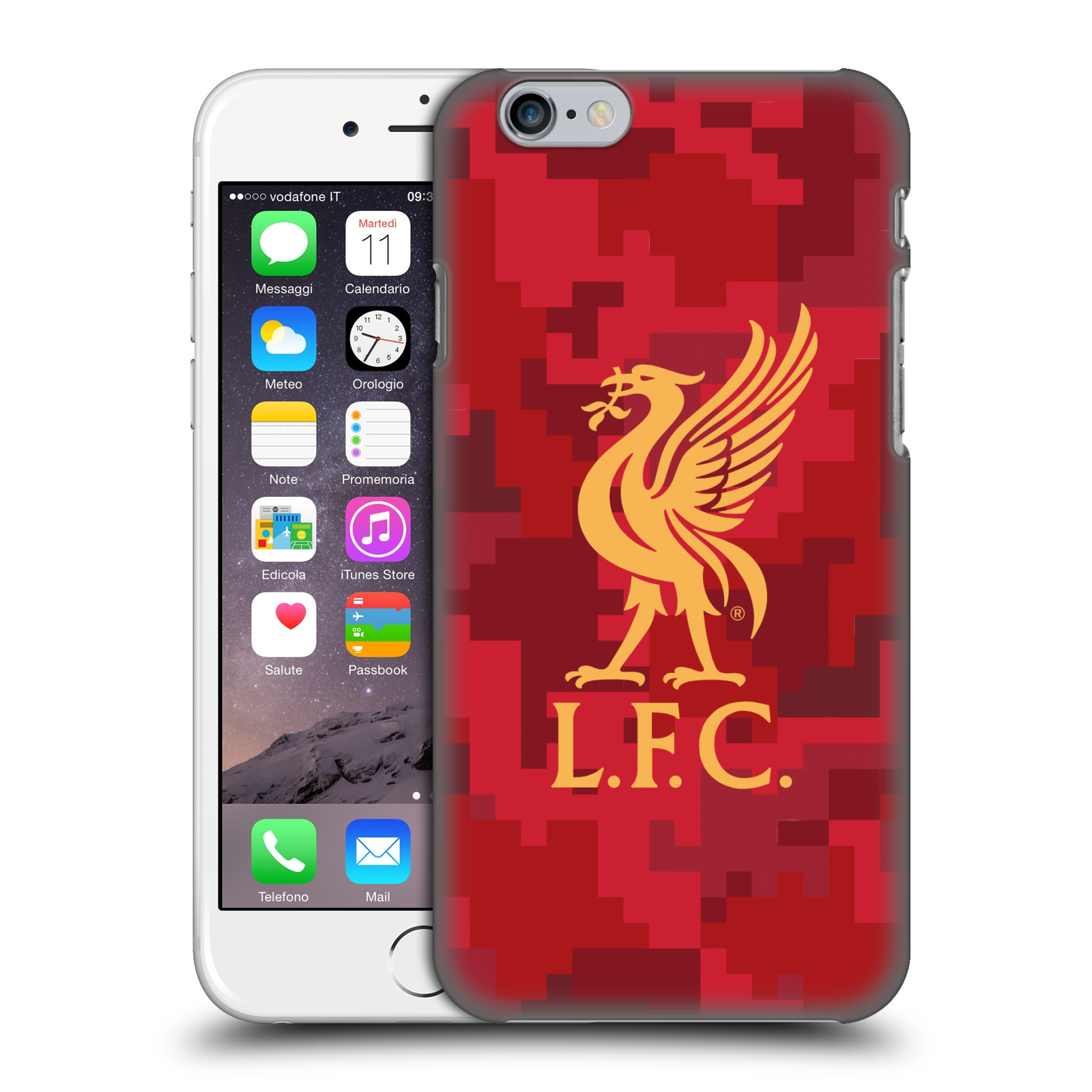 Liverpool FC LFC Digital Camouflage-Home Red