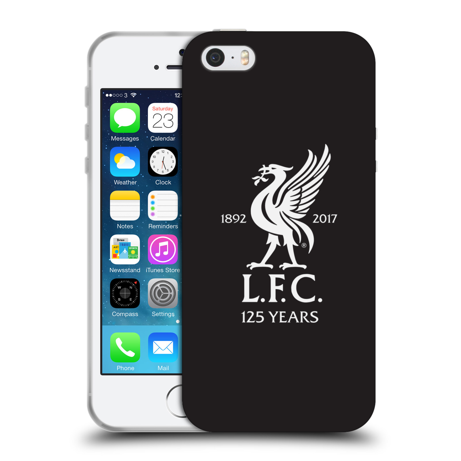 HEAD CASE silikonový obal na mobil Apple Iphone 5 5S Fotbalový klub  Liverpool fotbalový dres empty b81eca3873a