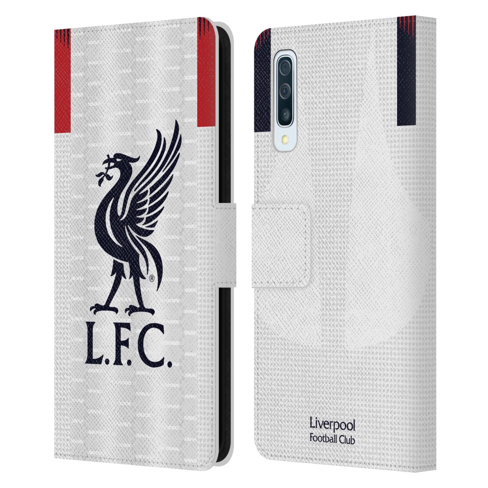 Pouzdro na mobil Samsung Galaxy A50 - Head Case - fotbalový klub liverpool bílý dres