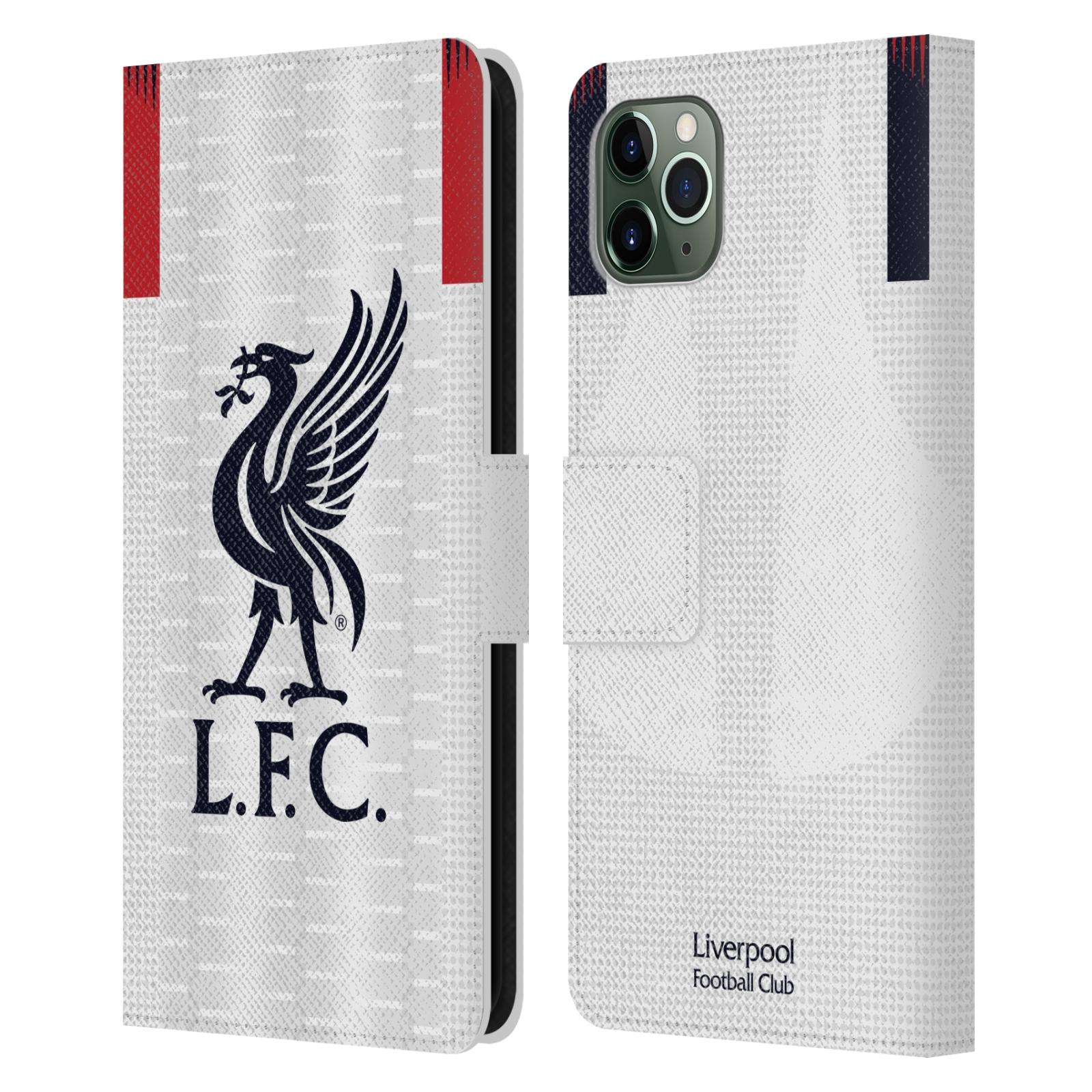 Pouzdro na mobil Apple Iphone 11 PRO MAX - Head Case - fotbalový klub liverpool bílý dres