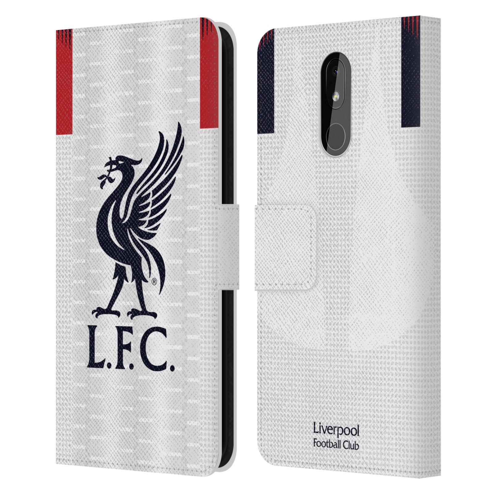 Pouzdro na mobil Nokia 3.2 - Head Case - fotbalový klub liverpool bílý dres