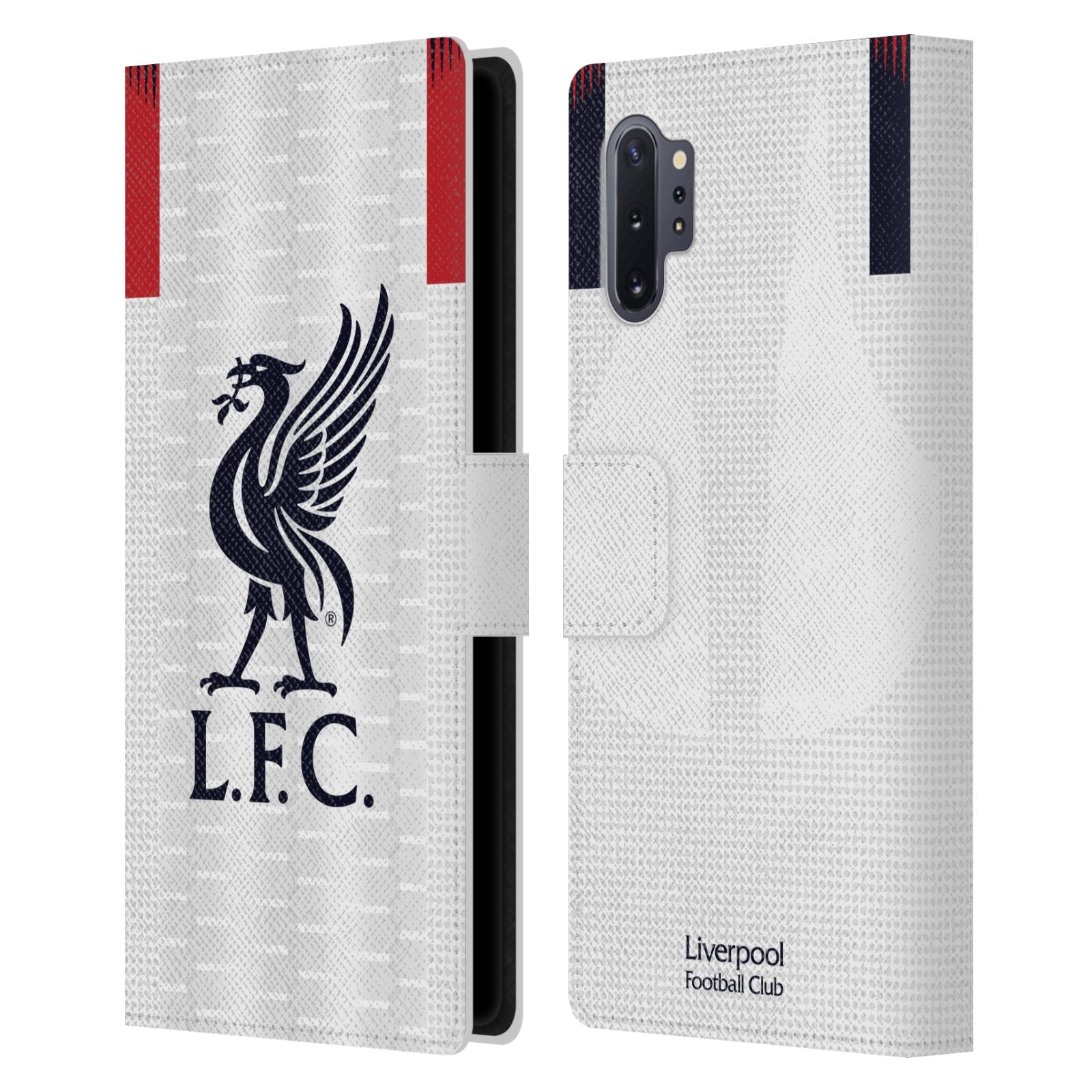 Pouzdro na mobil Samsung Galaxy Note 10+ - Head Case - fotbalový klub liverpool bílý dres