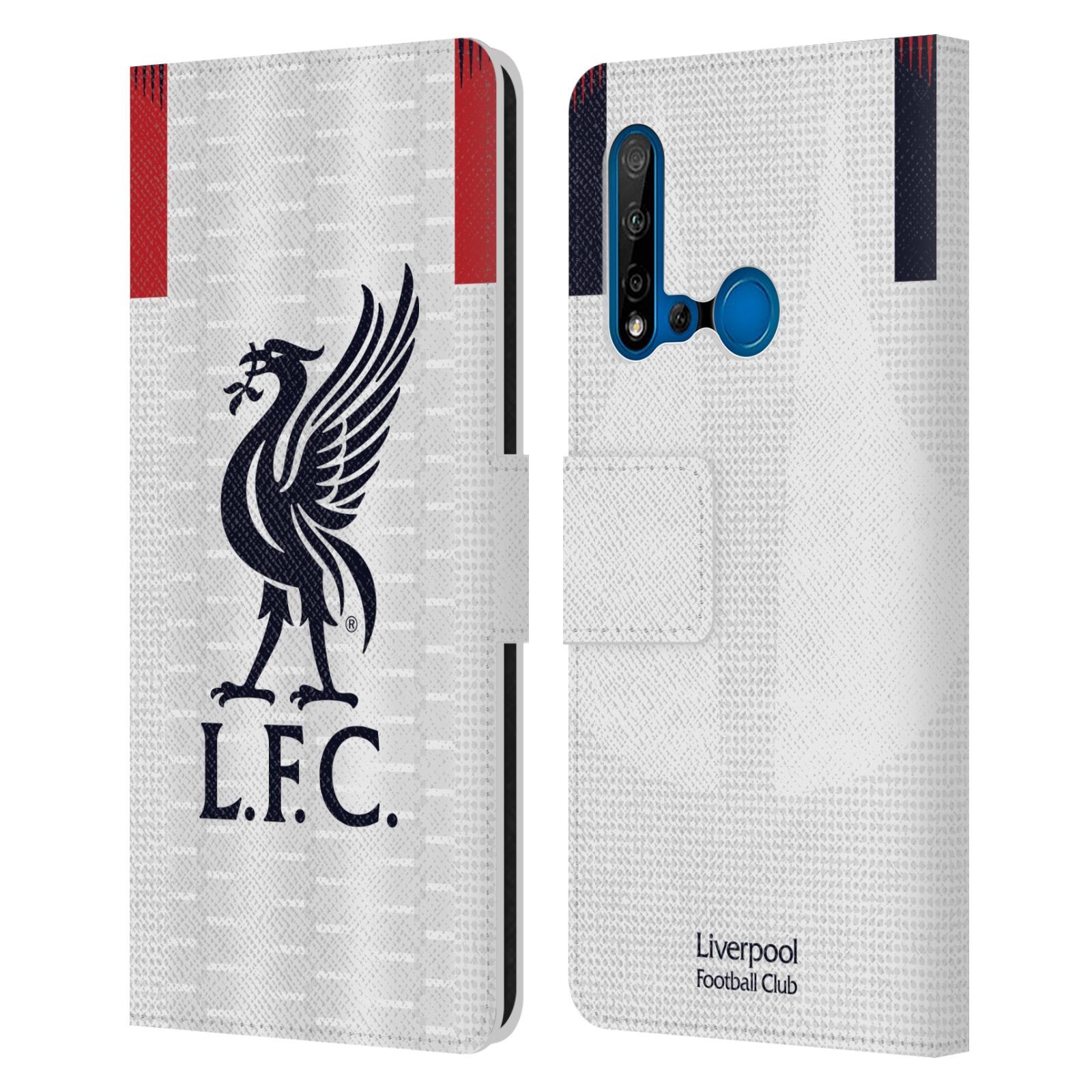 Pouzdro na mobil Huawei P20 LITE 2019 - Head Case - fotbalový klub liverpool bílý dres