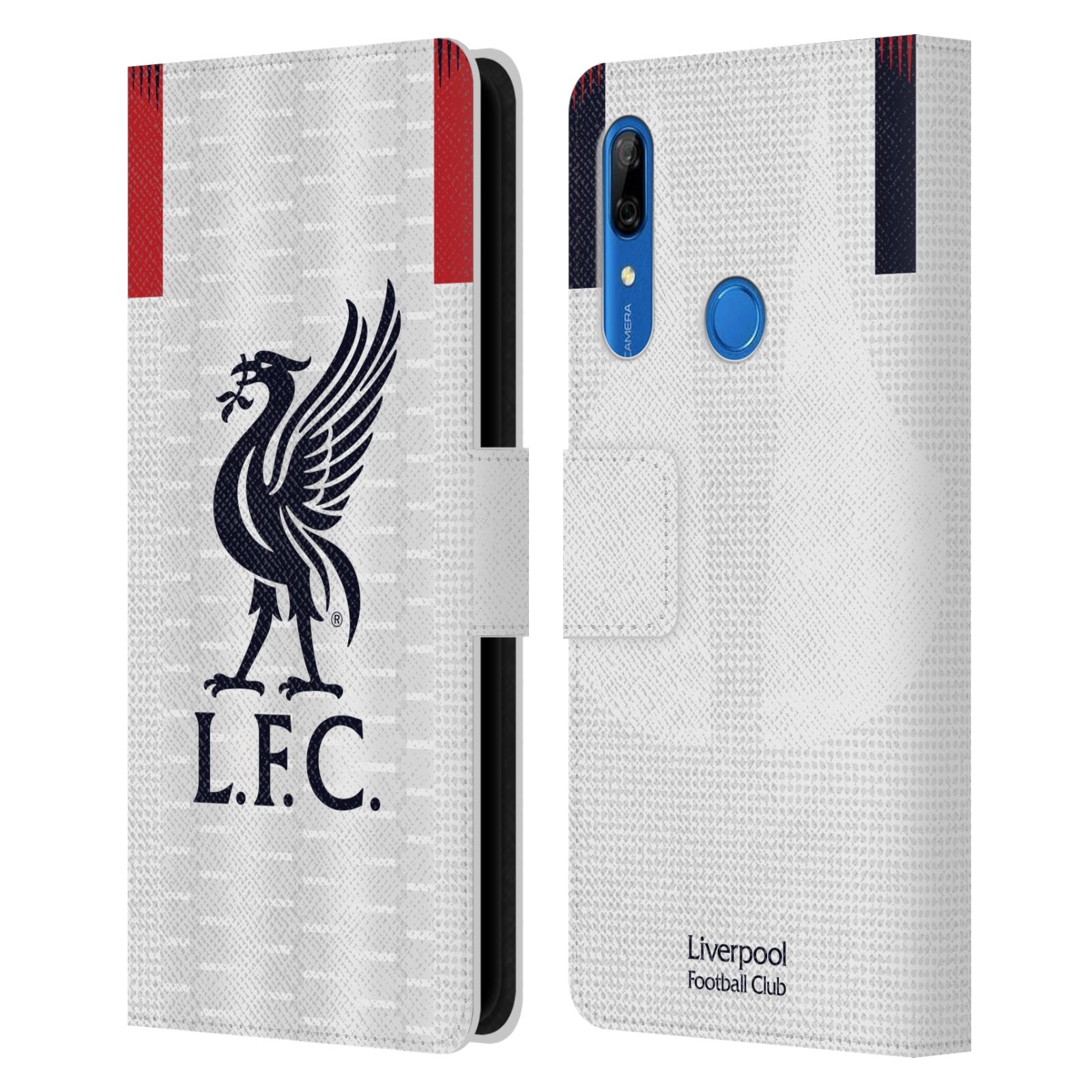 Pouzdro na mobil Huawei P Smart Z - Head Case - fotbalový klub liverpool bílý dres