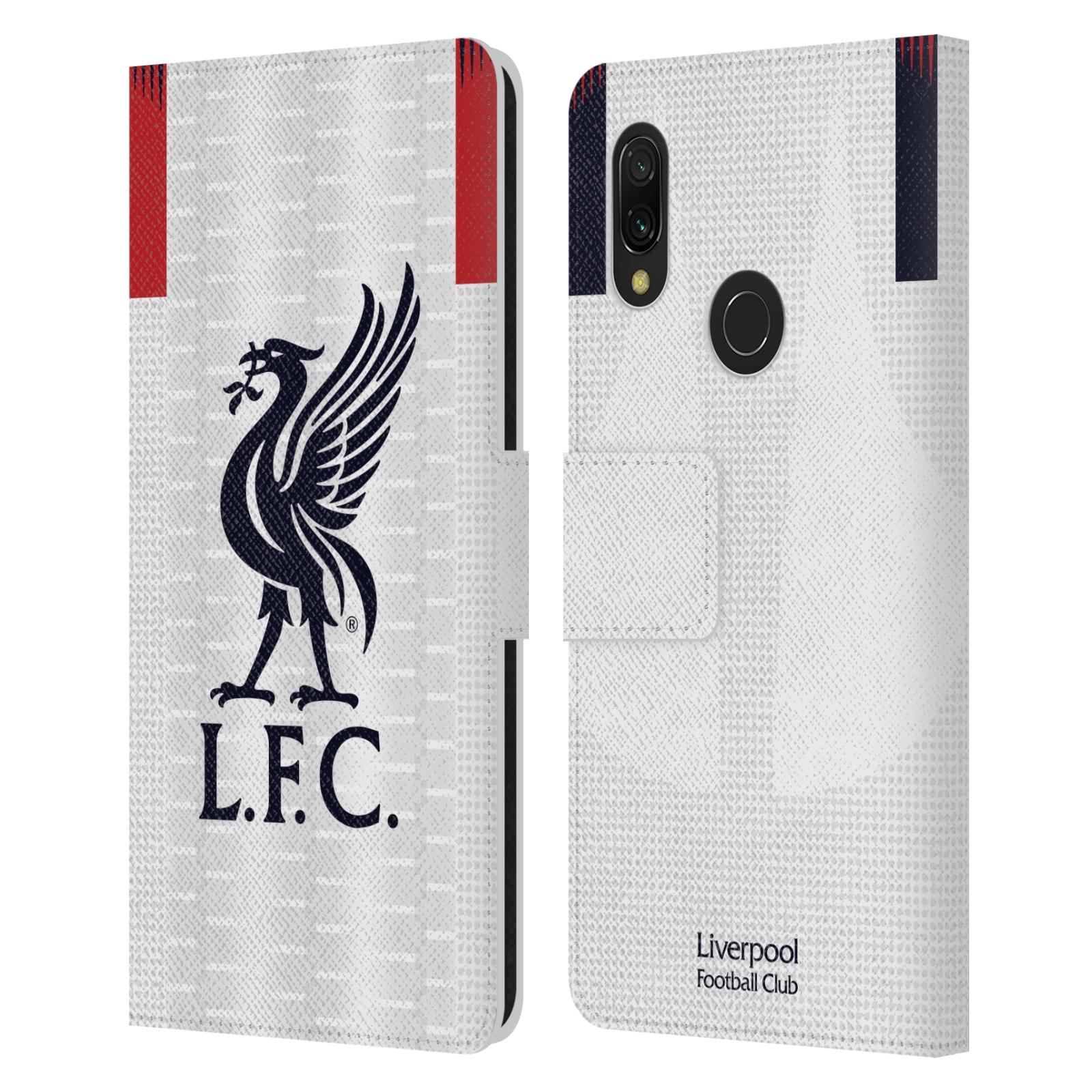 Pouzdro na mobil Xiaomi Redmi 7 - Head Case - fotbalový klub liverpool bílý dres