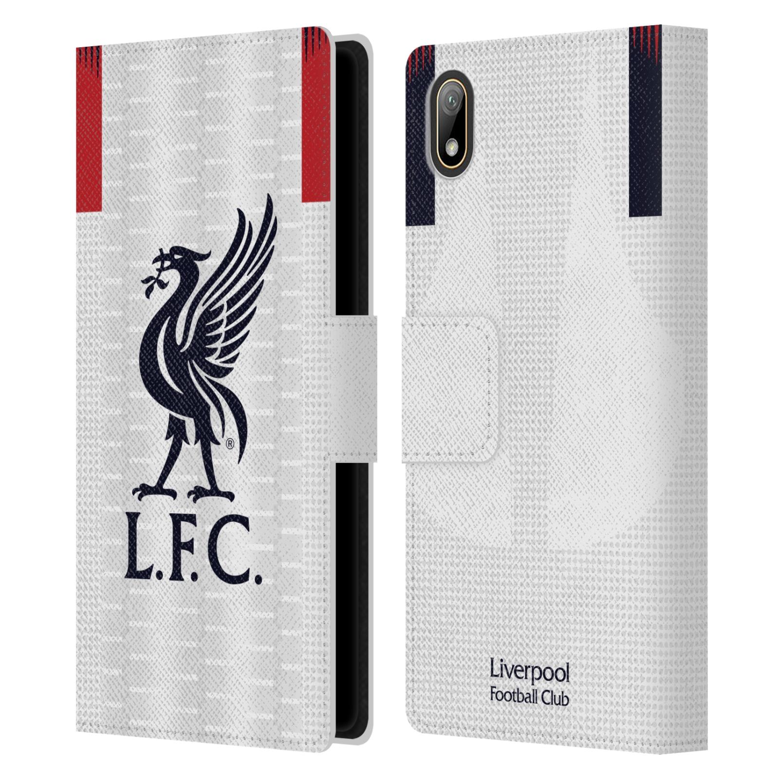 Pouzdro na mobil Huawei Y5 2019 - Head Case - fotbalový klub liverpool bílý dres
