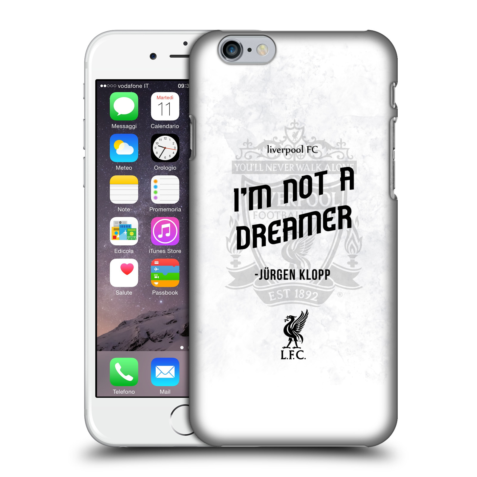 Liverpool FC LFC Klopp Quotes-Not a Dreamer White