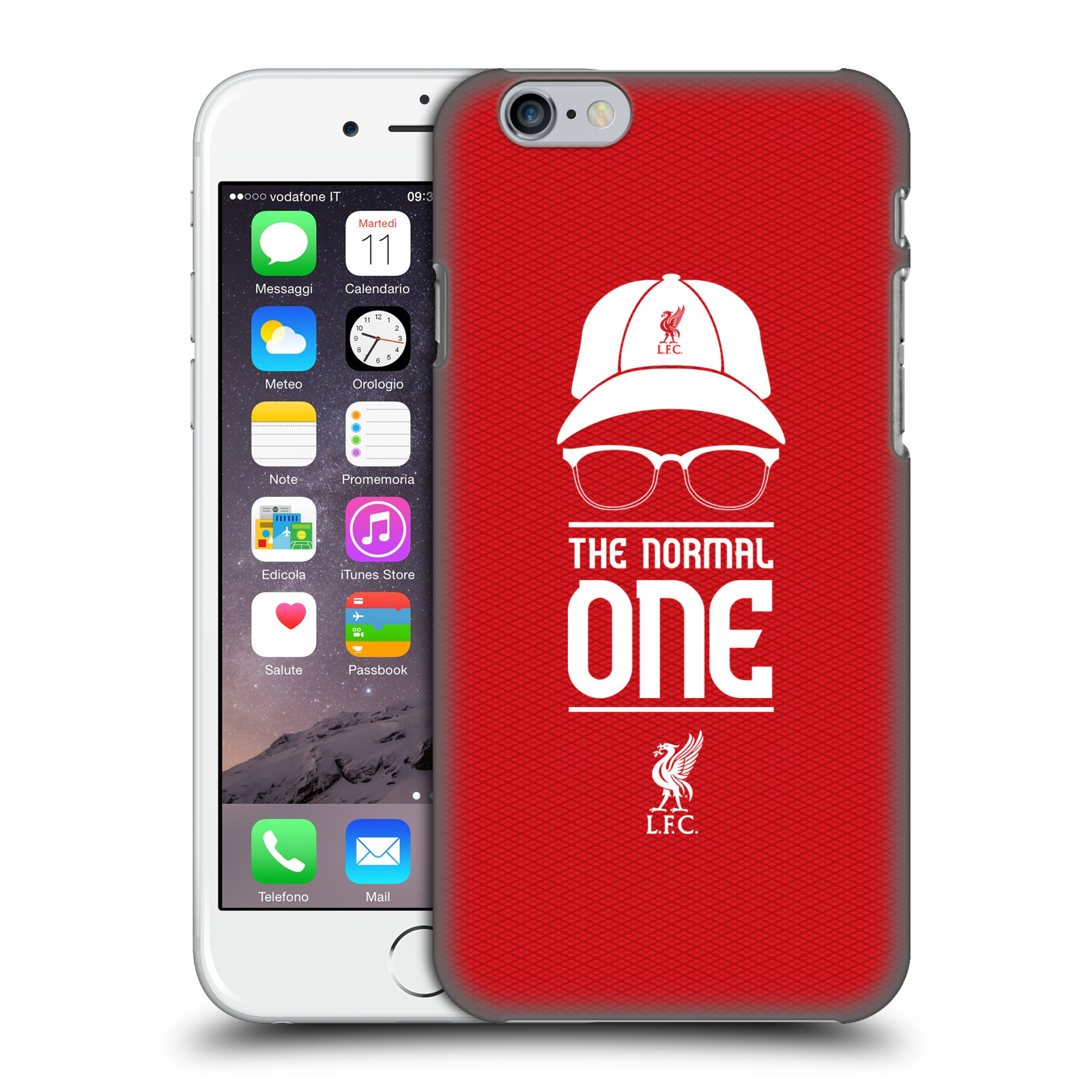 Liverpool FC LFC Klopp Icons-Icon Red Mesh