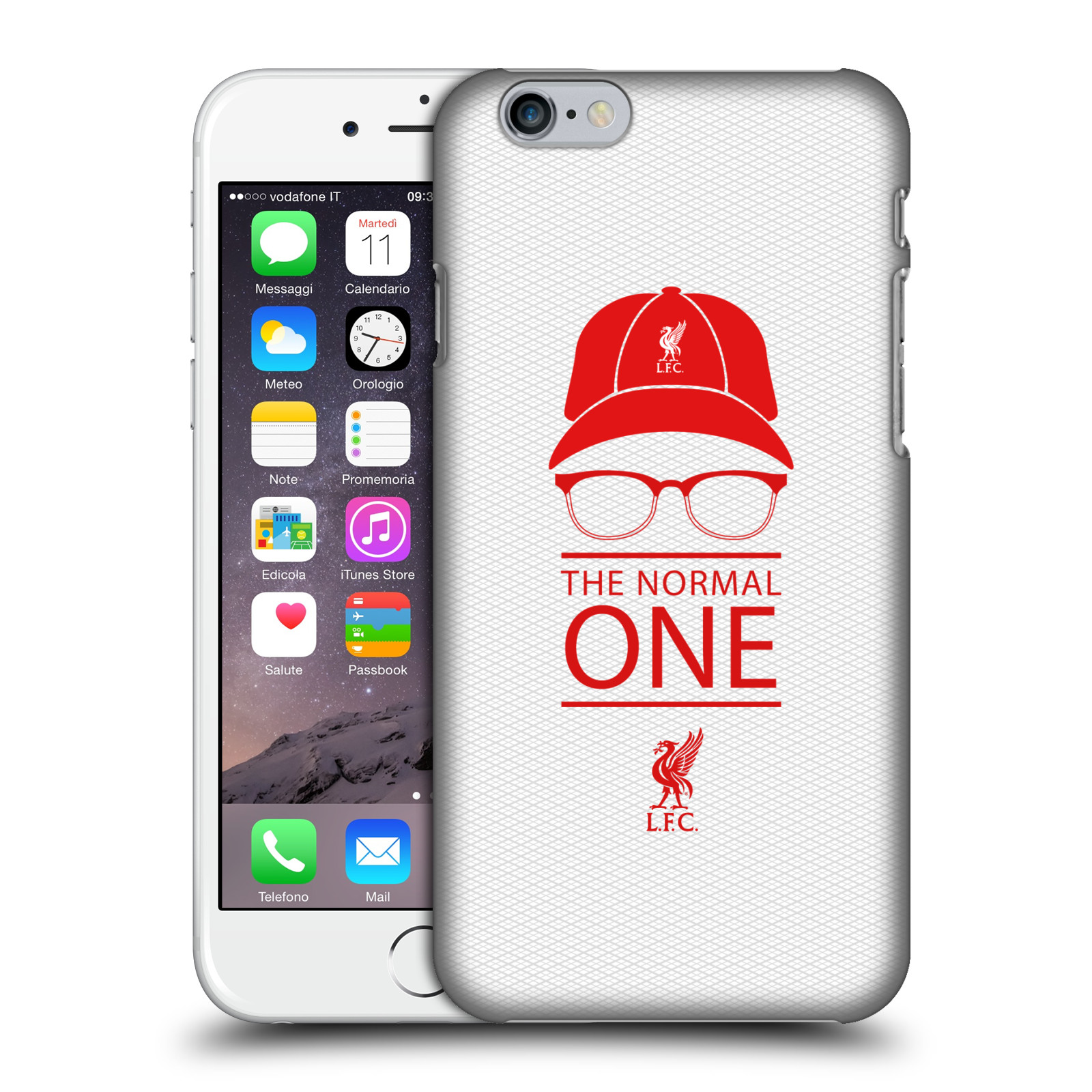 Liverpool FC LFC Klopp Icons-Icon White Mesh
