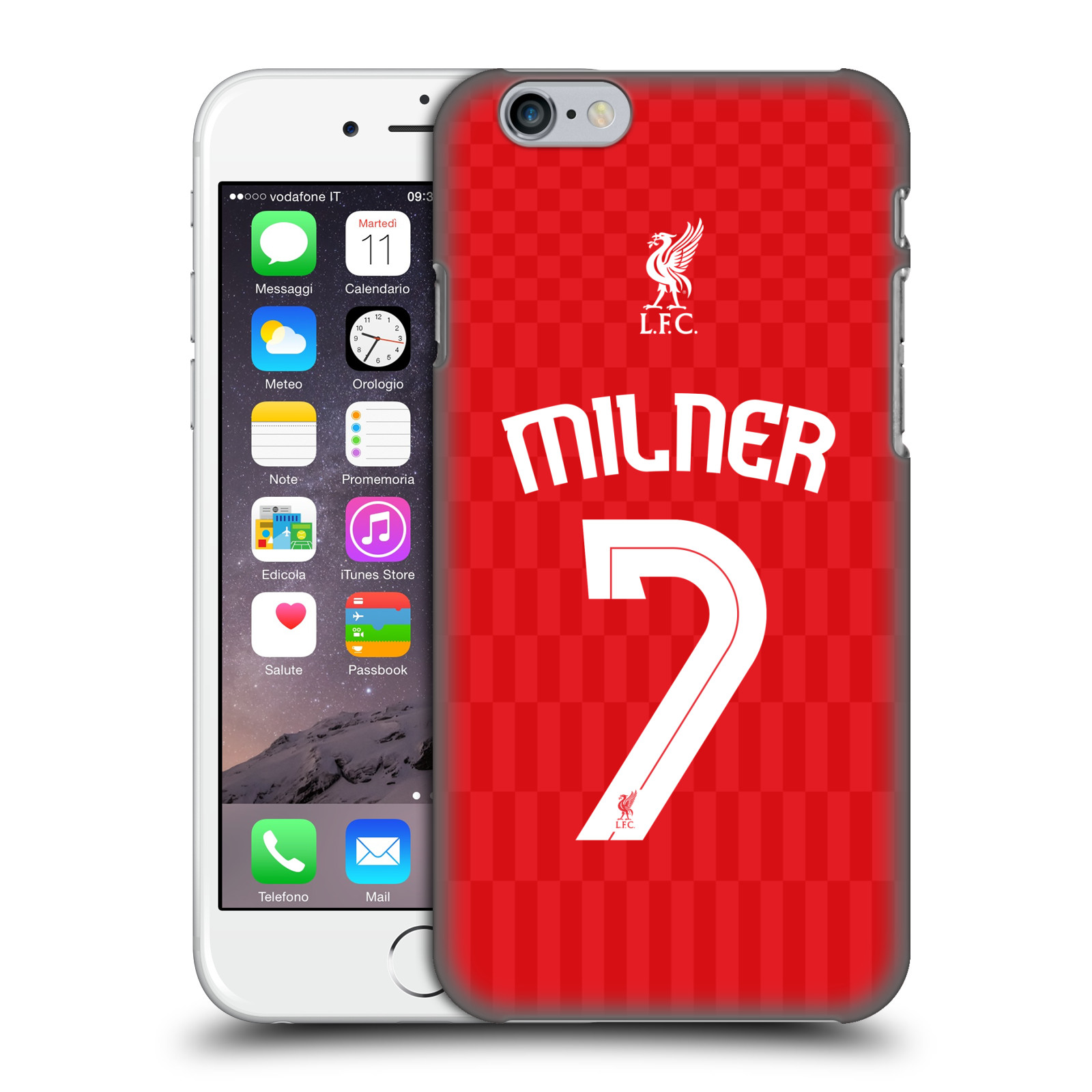 Liverpool FC LFC Shirt New 2015/16-Home Shirt Red Milner