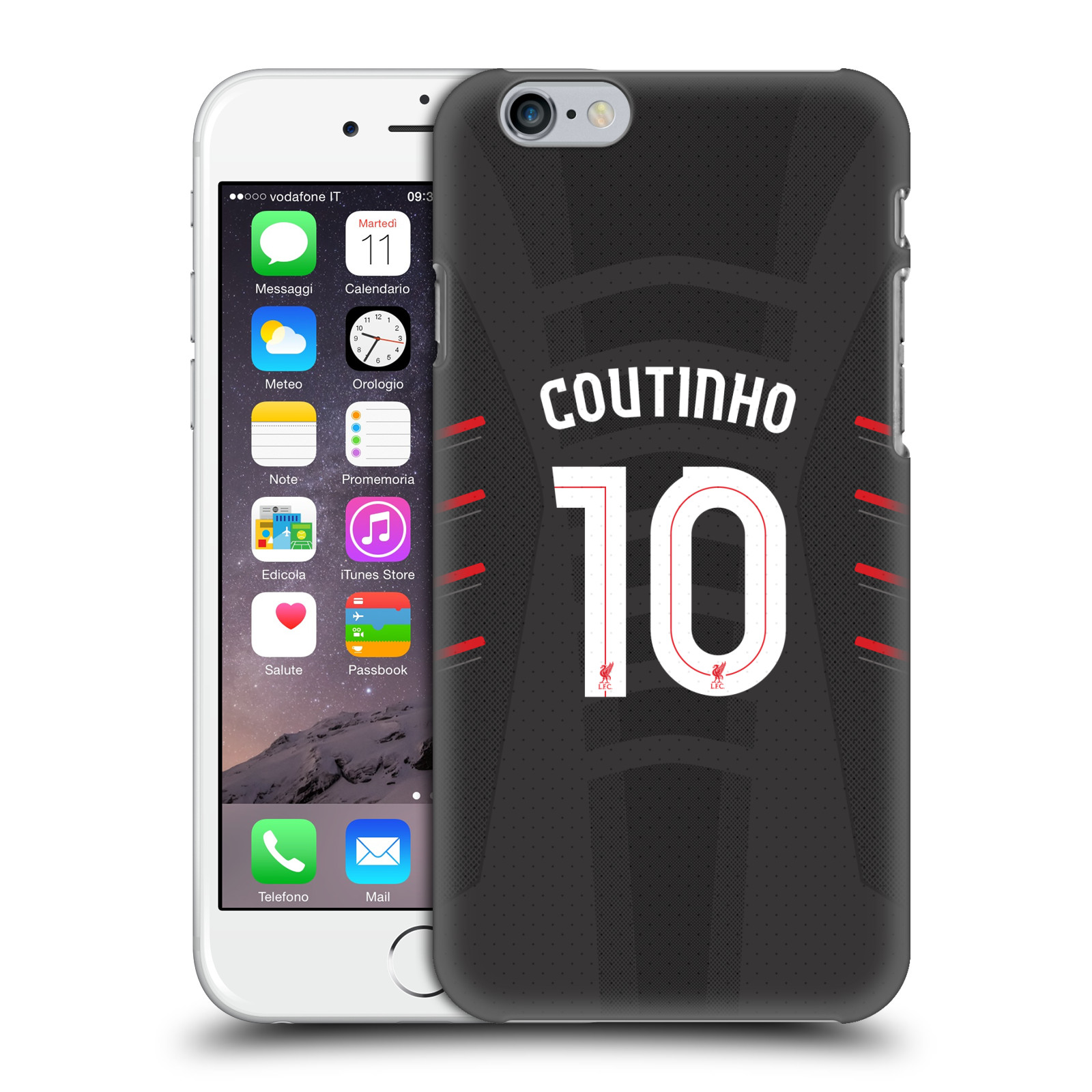 Liverpool FC LFC Players Away Kit 16/17 Group 1-Coutinho