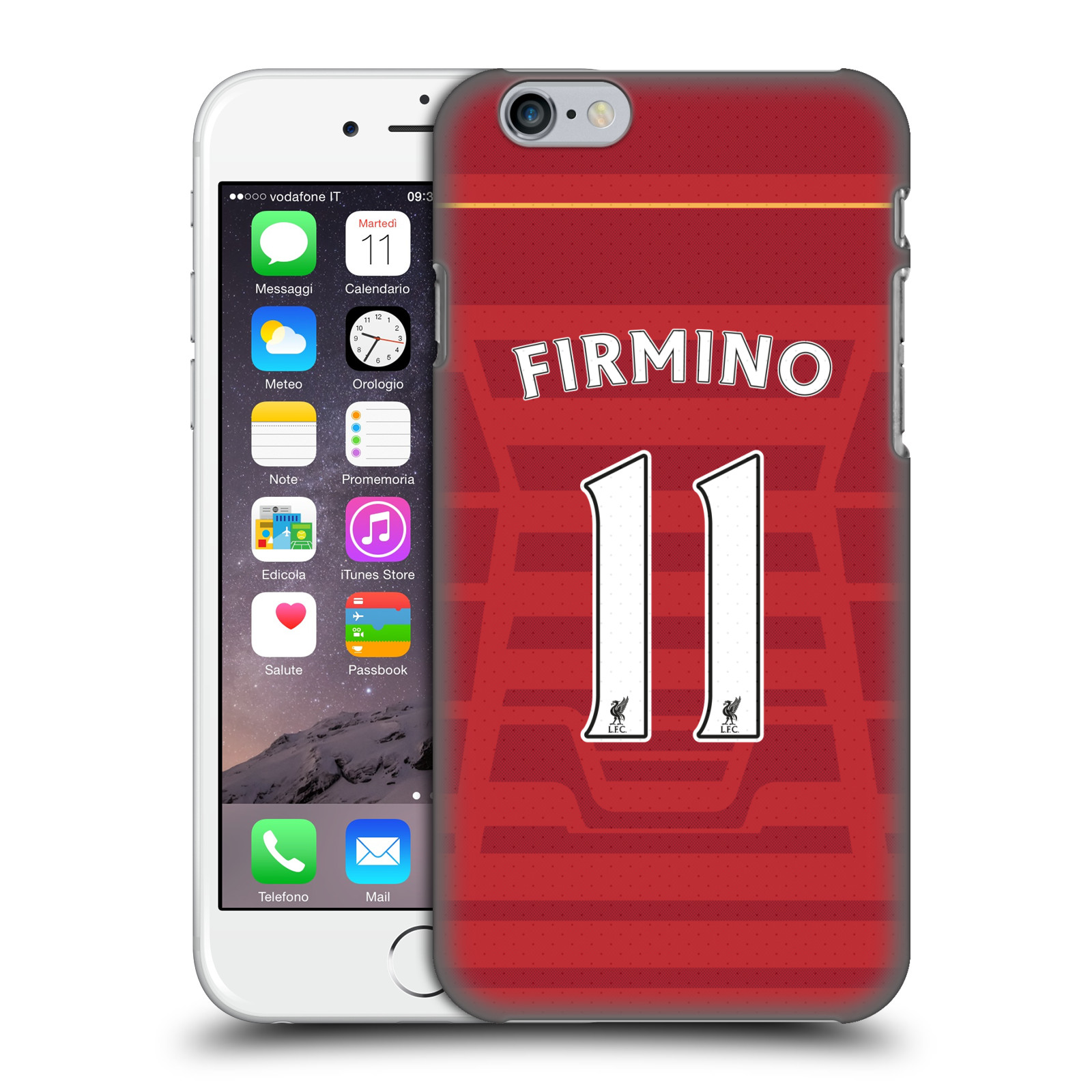Liverpool FC LFC Players Home Kit 16/17 Group 1-Firmino