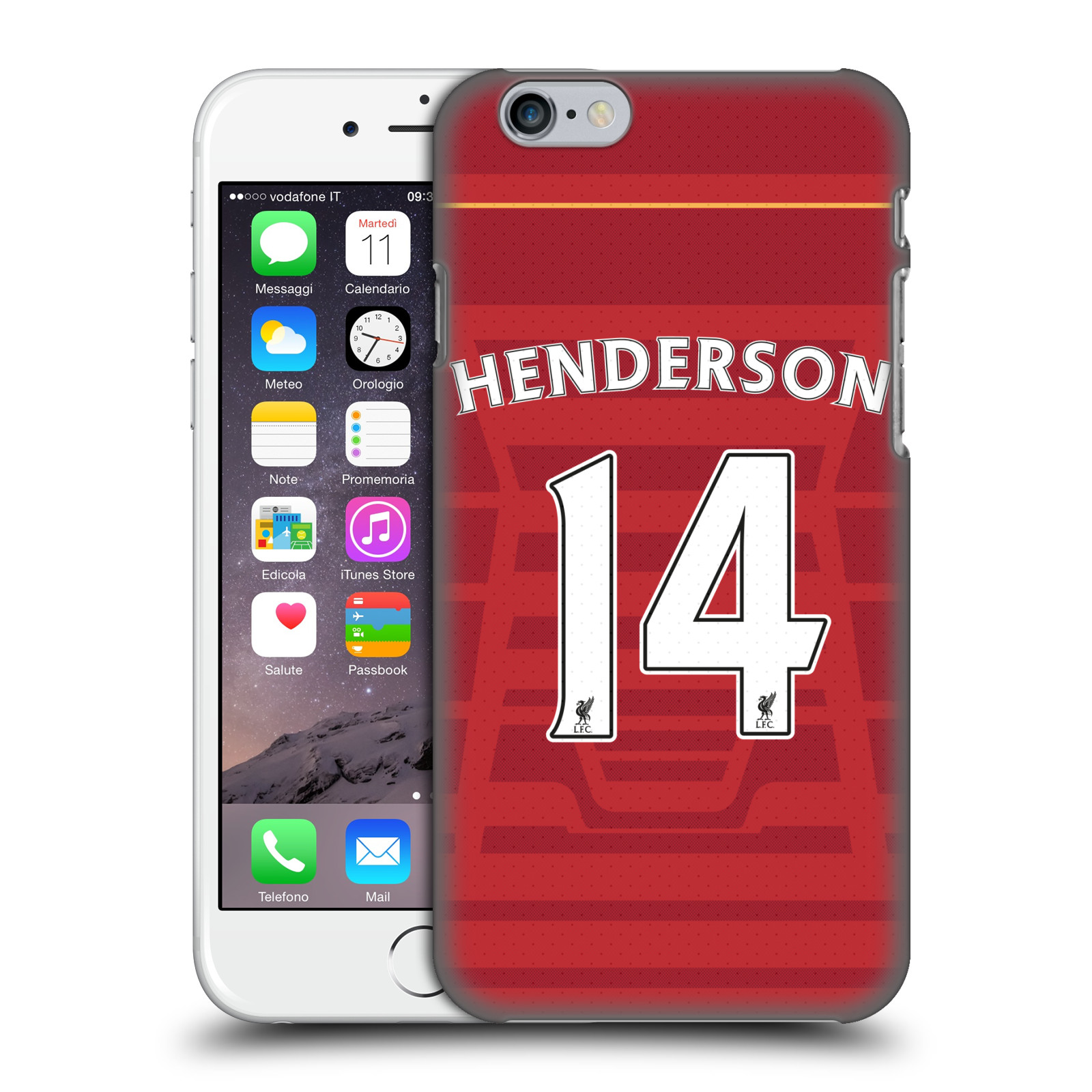 Liverpool FC LFC Players Home Kit 16/17 Group 1-Henderson