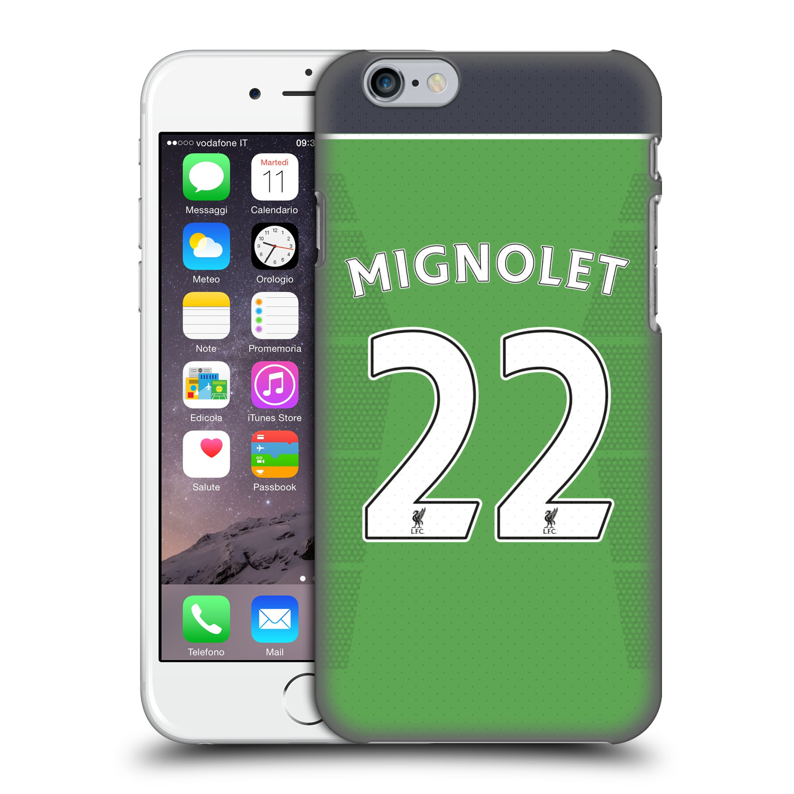 Liverpool FC LFC Players Home Kit 16/17 Group 1-Mignolet