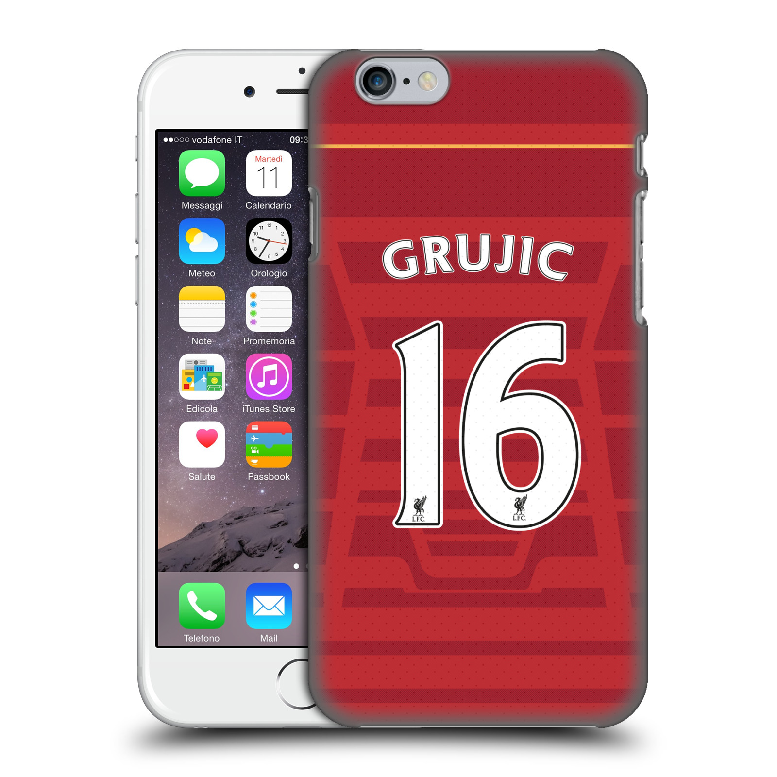 Liverpool FC LFC Players Home Kit 16/17 Group 2-Grujic