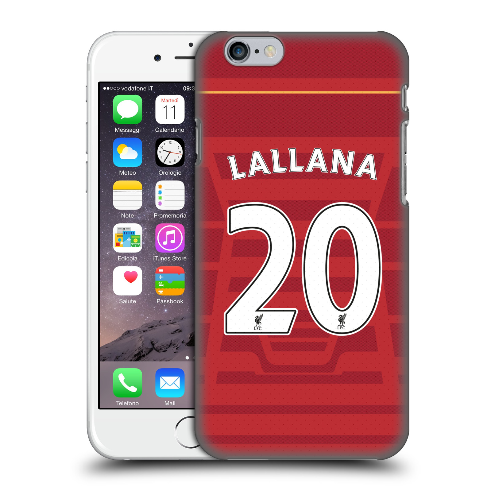 Liverpool FC LFC Players Home Kit 16/17 Group 2-Lallana