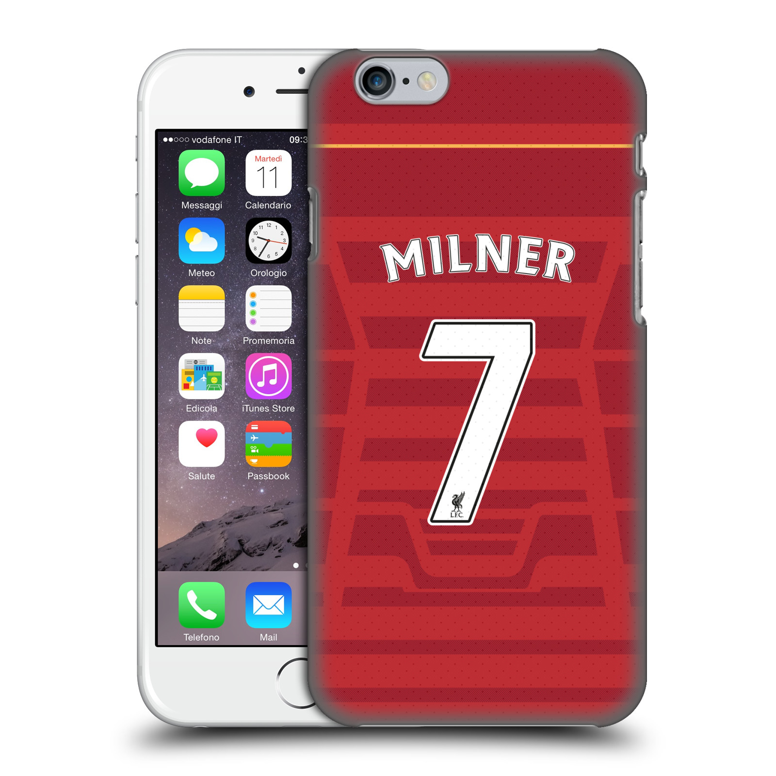 Liverpool FC LFC Players Home Kit 16/17 Group 2-Milner