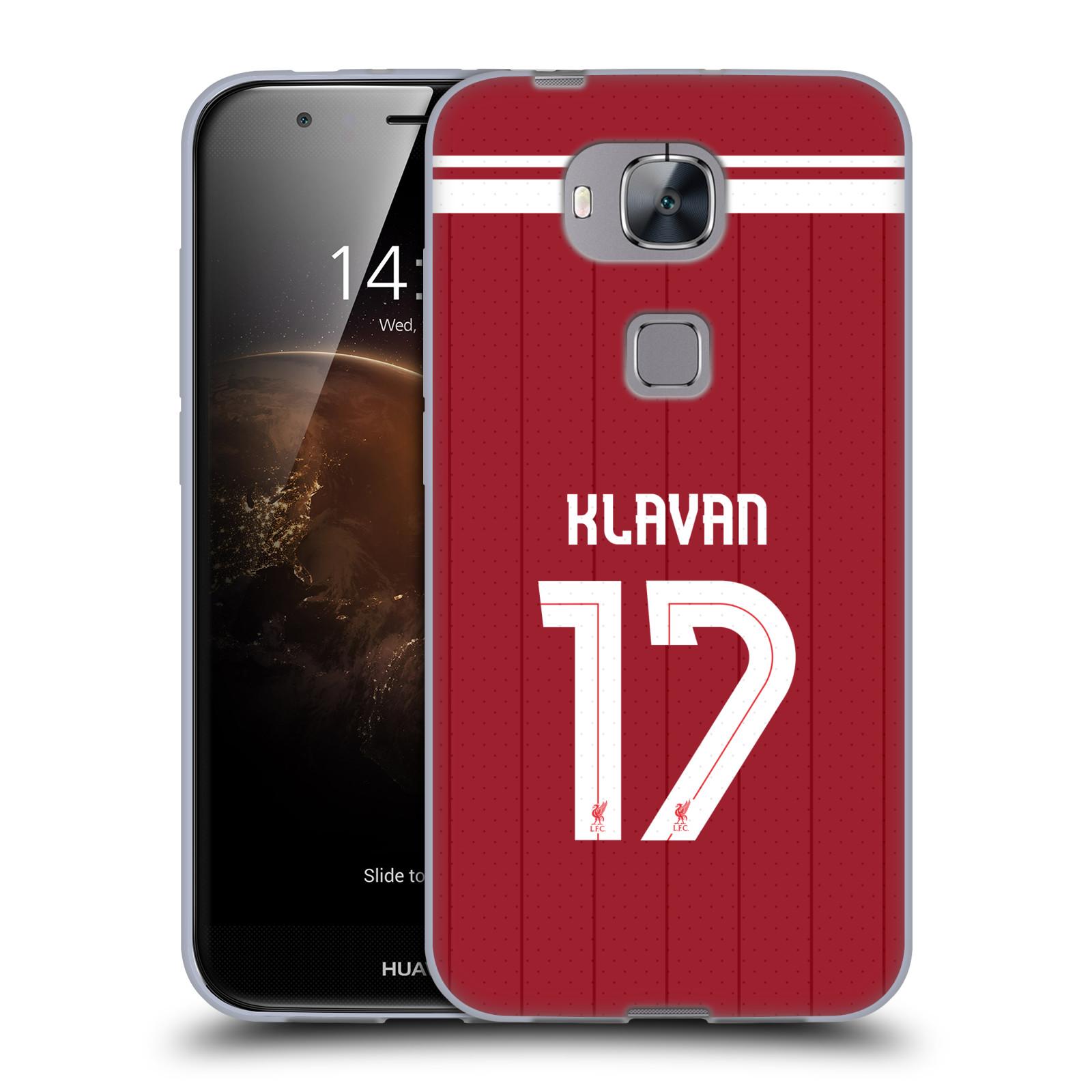 LIVERPOOL-FC-LFC-GIOCATORI-HOME-KIT-17-18-1-CASE-IN-GEL-PER-HUAWEI-TELEFONI-2