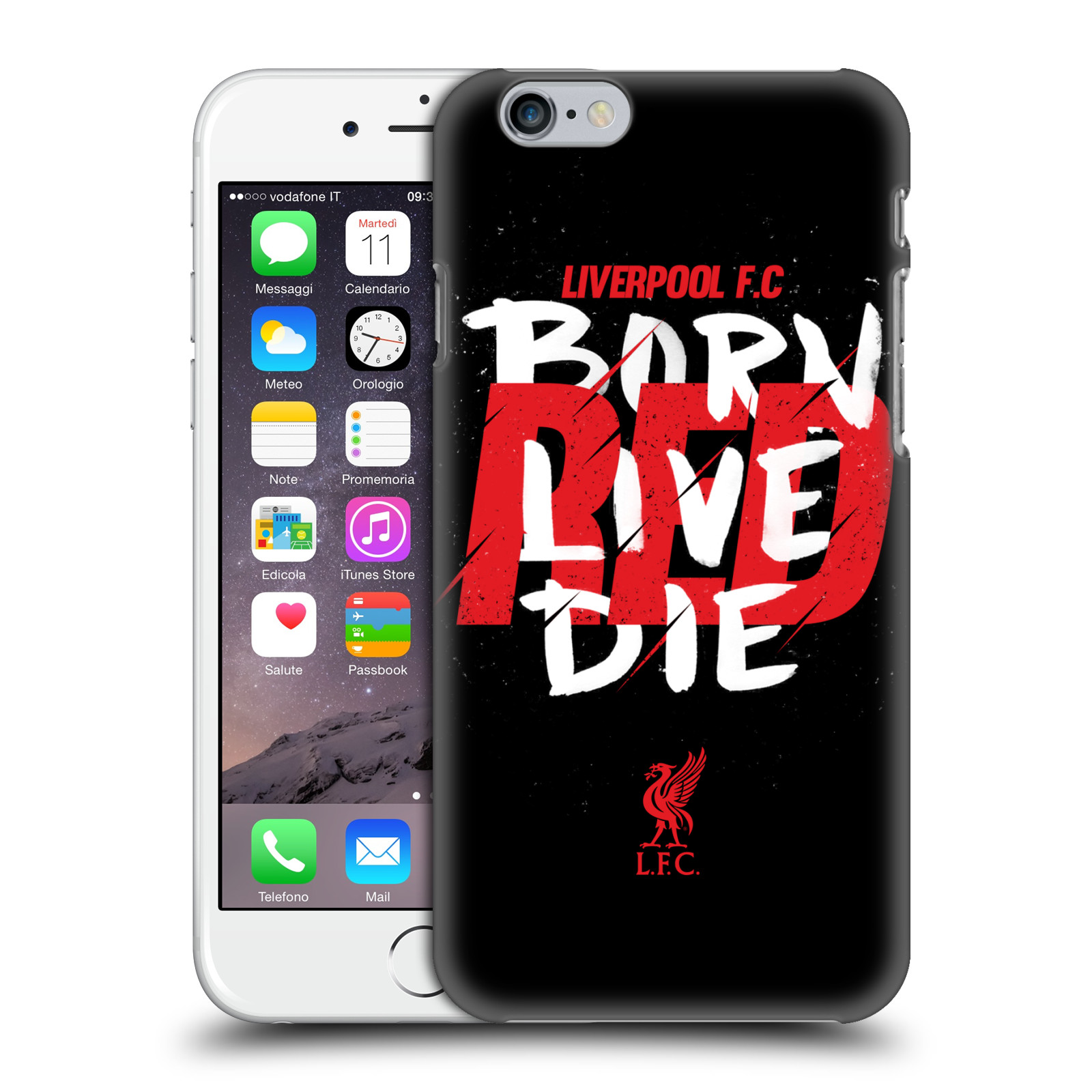 Liverpool FC LFC Redmen-Born Live Die Red