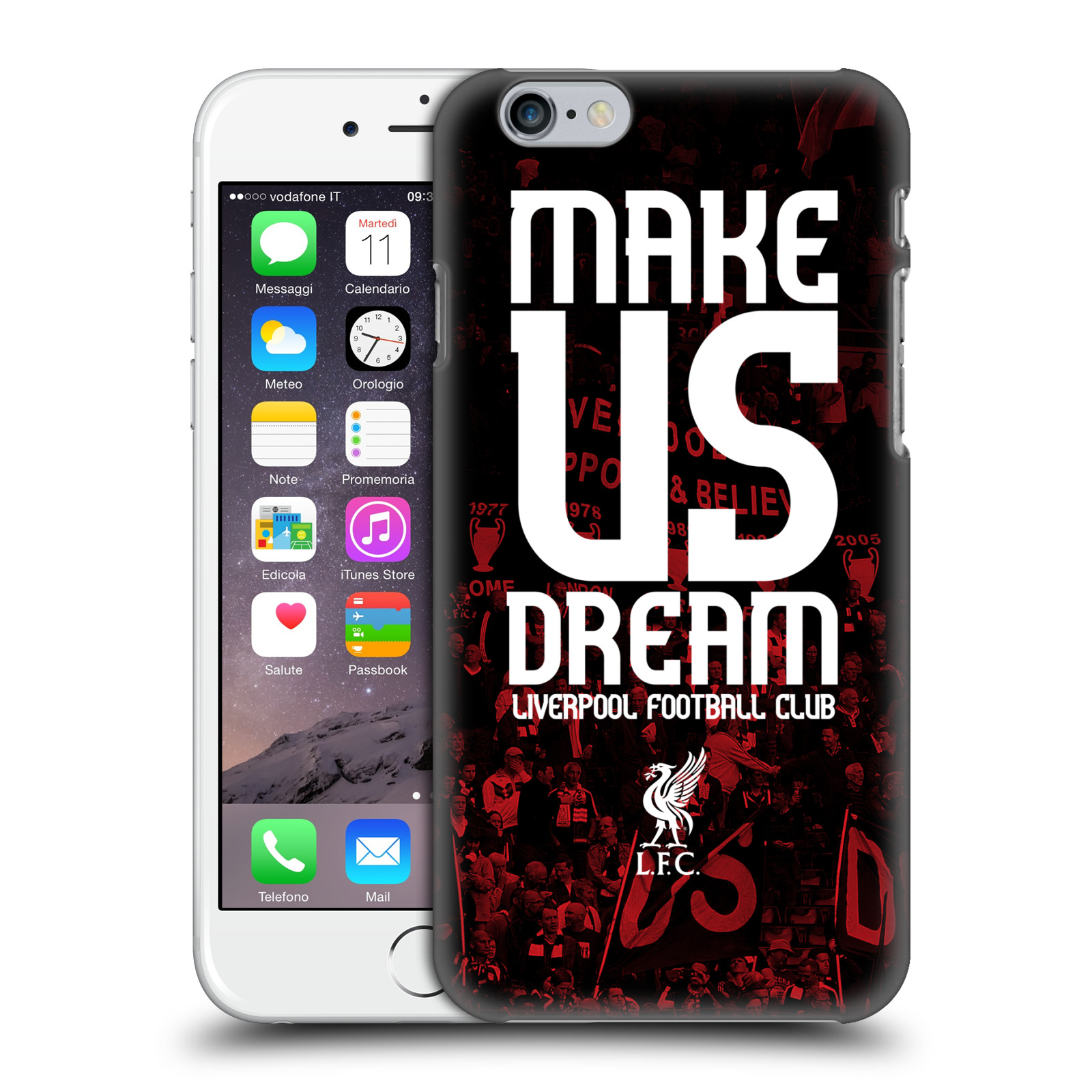 Liverpool FC LFC Redmen-Make Us Dream