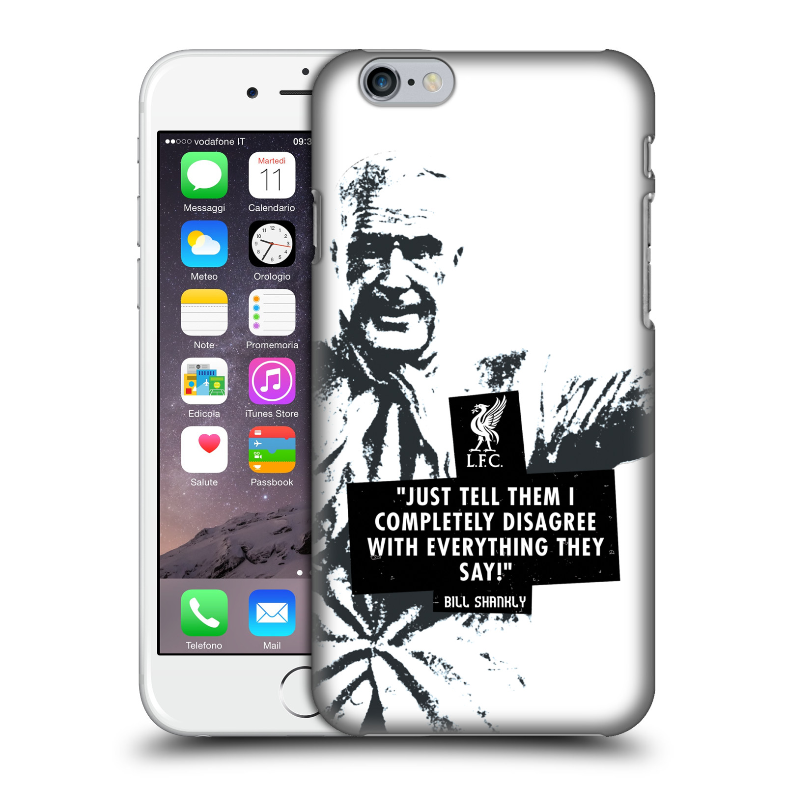 Liverpool FC LFC Bill Shankly Quotes-Disagree Black