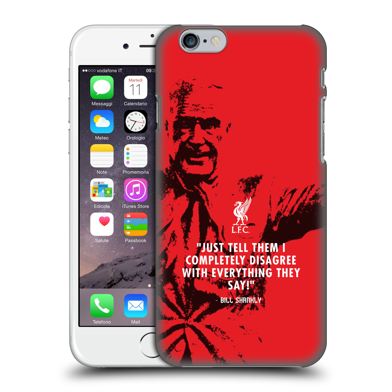 Liverpool FC LFC Bill Shankly Quotes-Disagree Red