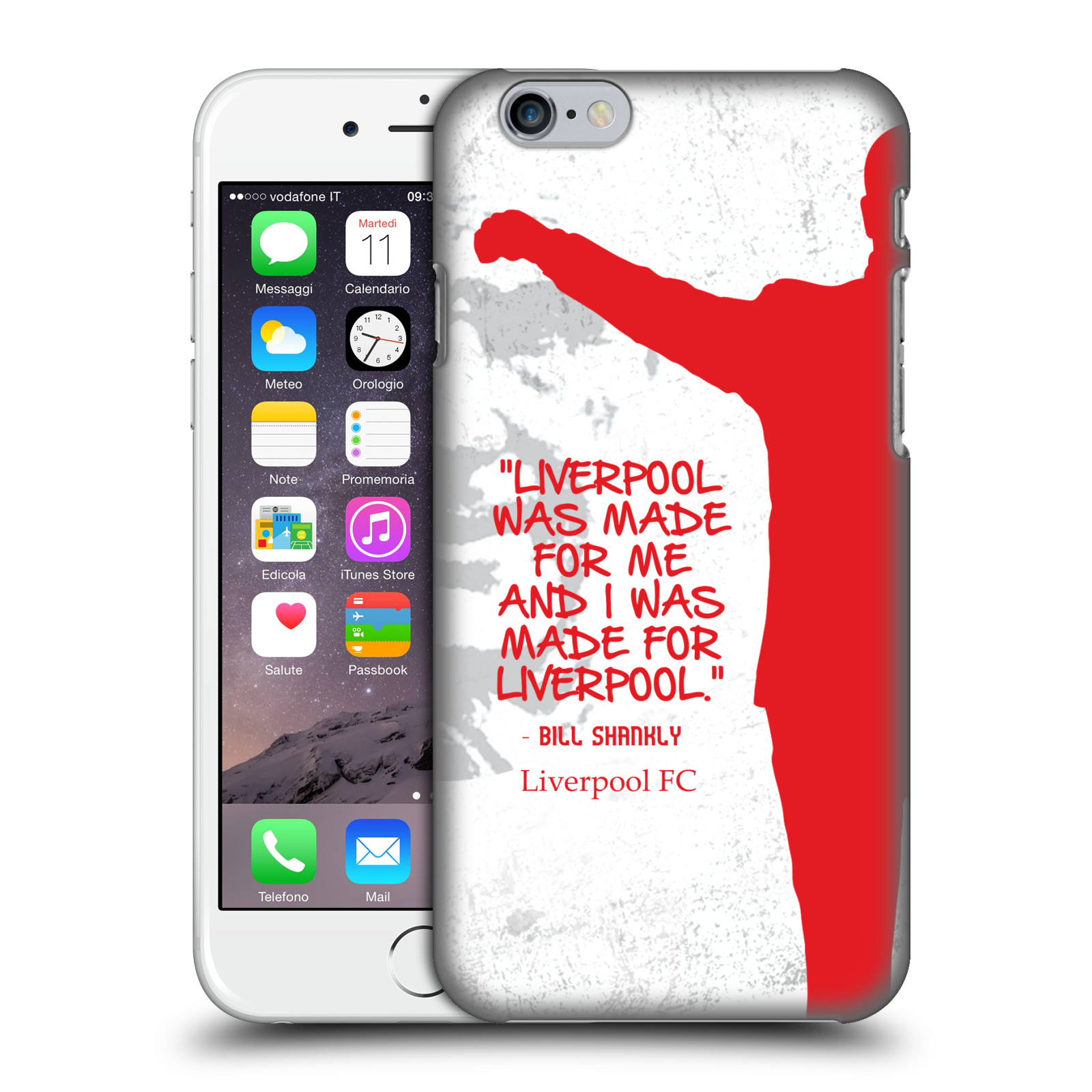 Liverpool FC LFC Bill Shankly Quotes-Made For Liverpool