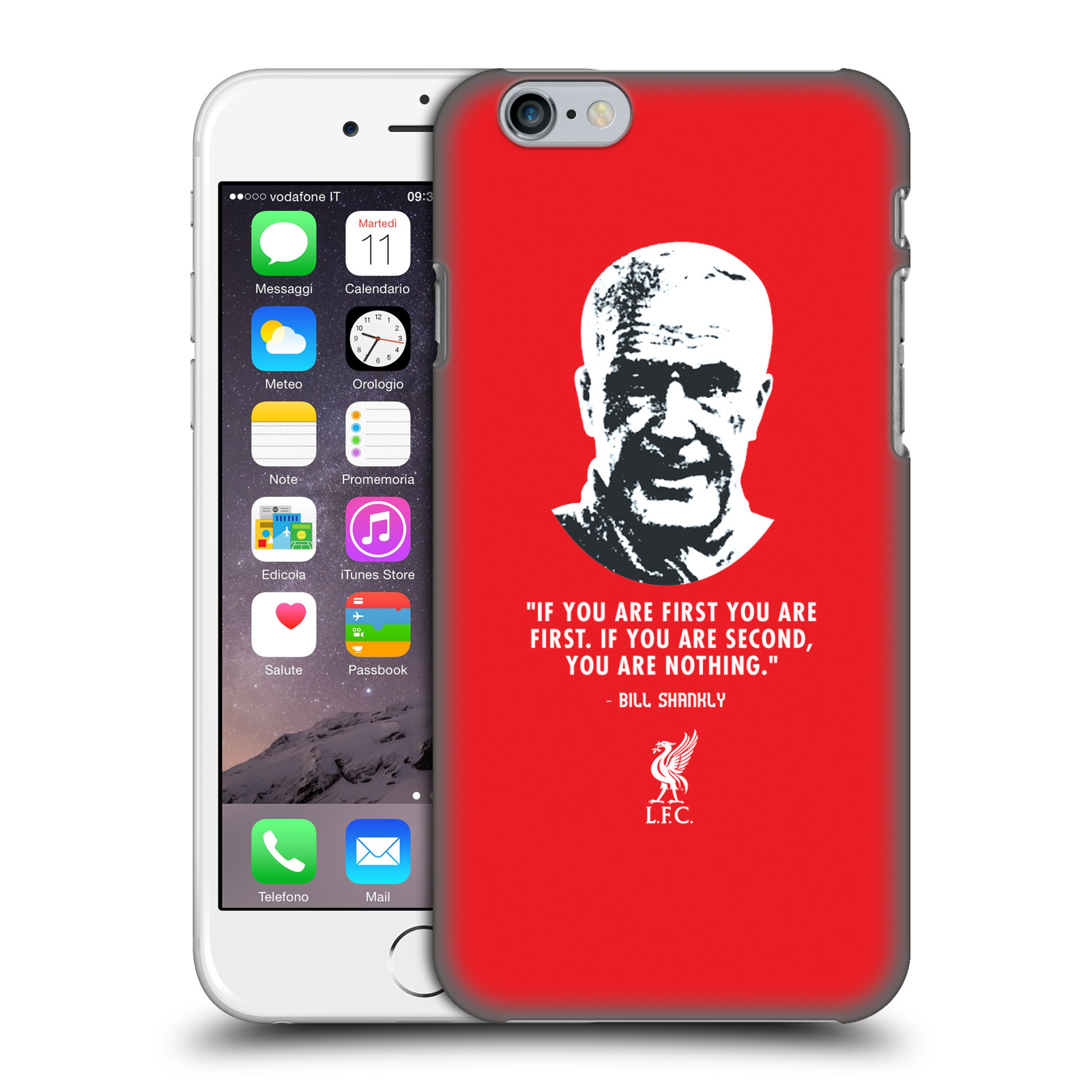 Liverpool FC LFC Bill Shankly Quotes-No Second Red