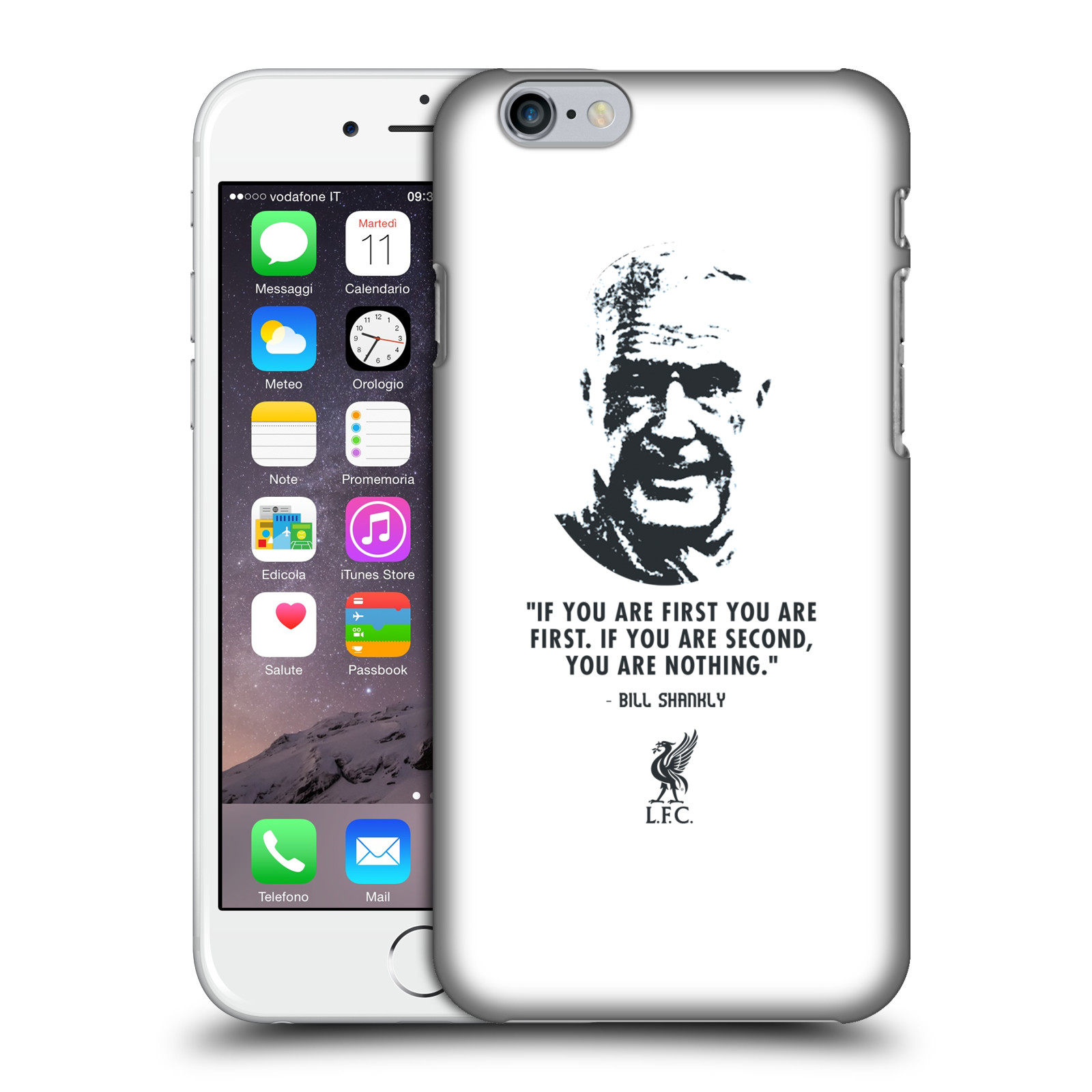 Liverpool FC LFC Bill Shankly Quotes-No Second White