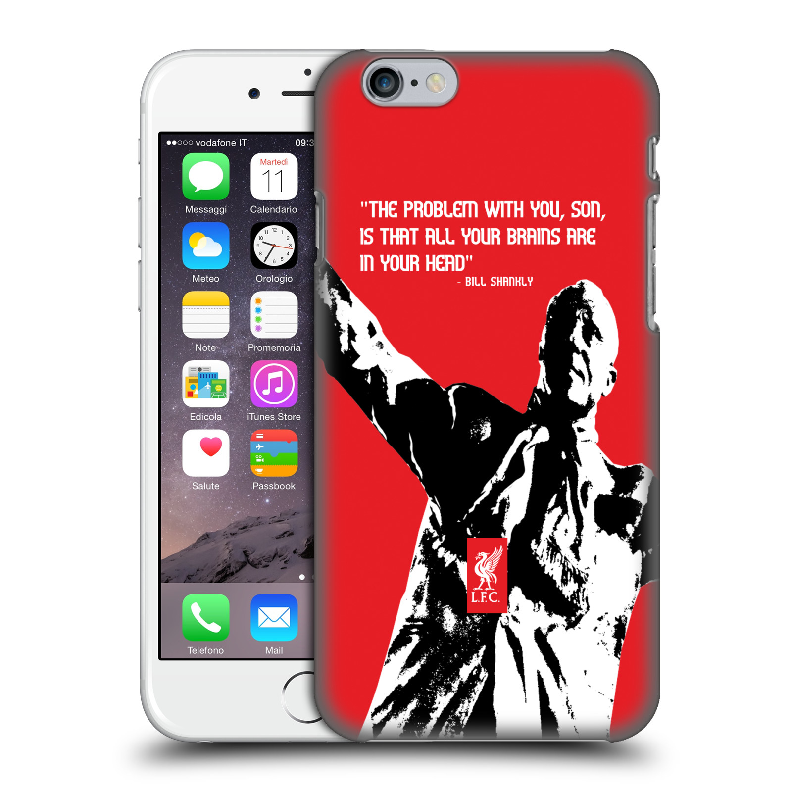 Liverpool FC LFC Bill Shankly Quotes-Problem Big