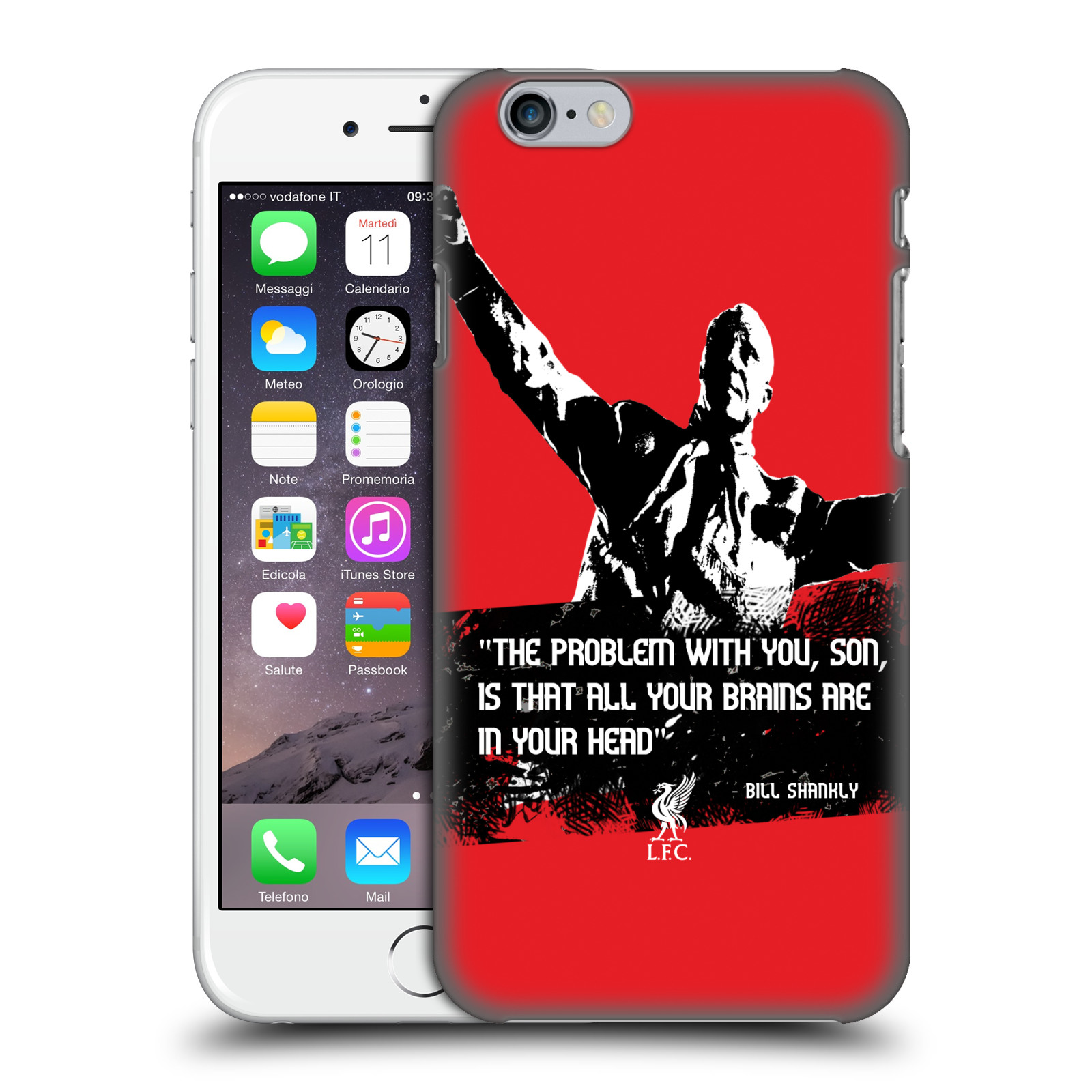 Liverpool FC LFC Bill Shankly Quotes-Problem Medium