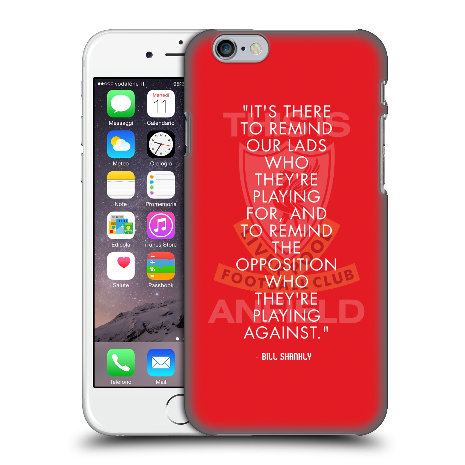 Liverpool FC LFC Bill Shankly Quotes-Reminder