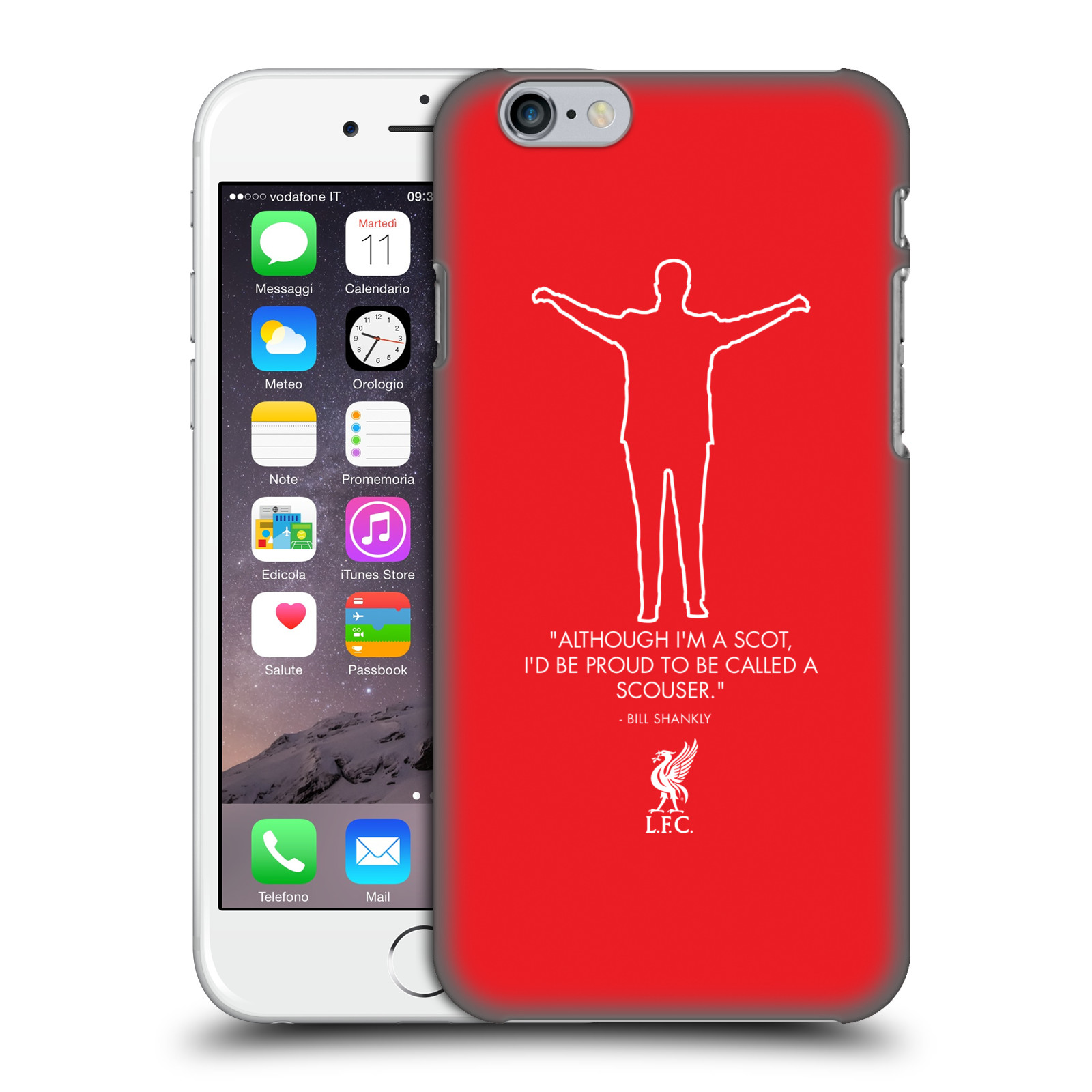 Liverpool FC LFC Bill Shankly Quotes-Scouse Red