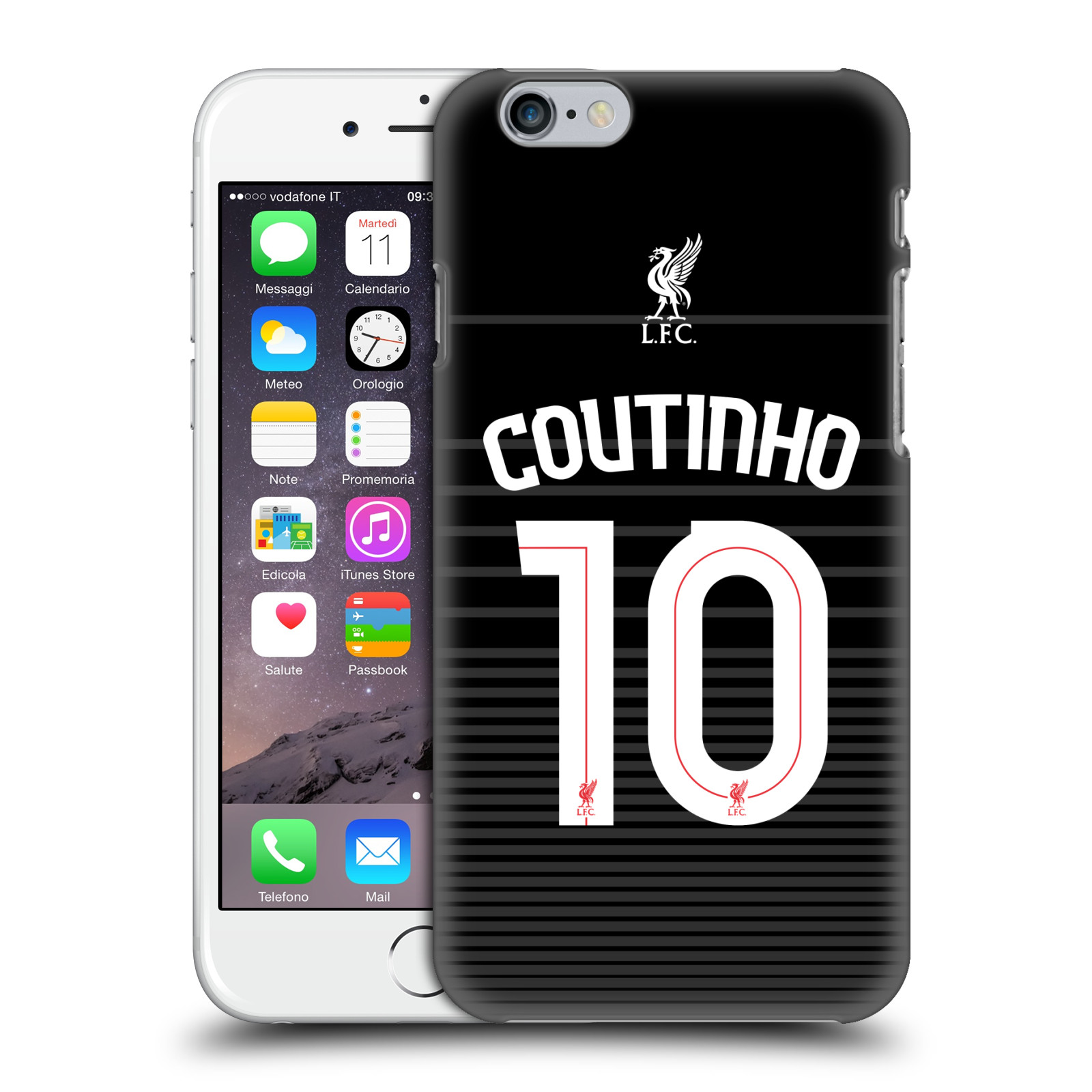 Liverpool FC LFC Shirt 2015/16-Away Shirt Black Coutinho
