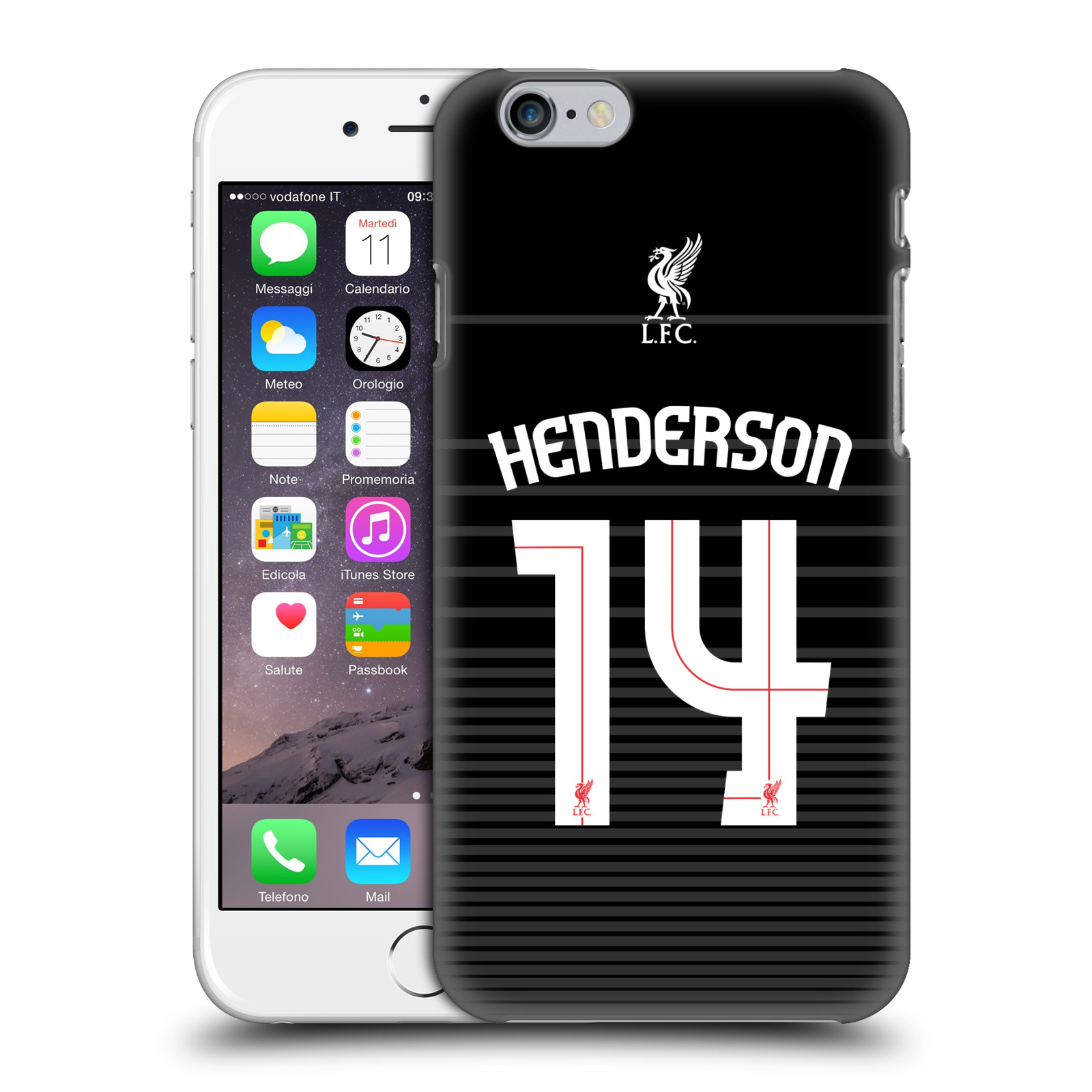 Liverpool FC LFC Shirt 2015/16-Away Shirt Black Henderson