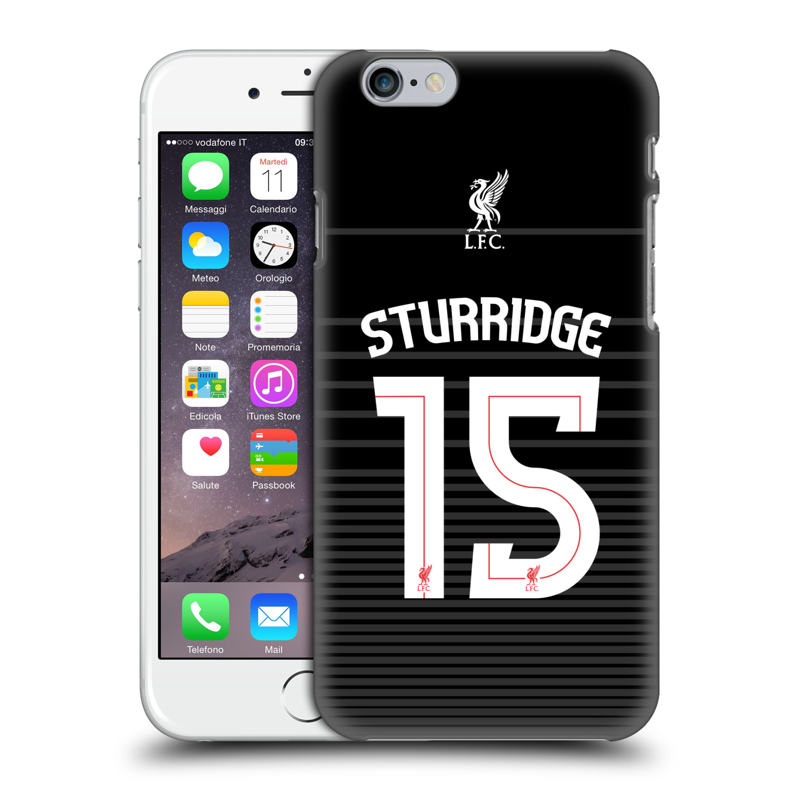 Liverpool FC LFC Shirt 2015/16-Away Shirt Black Sturridge