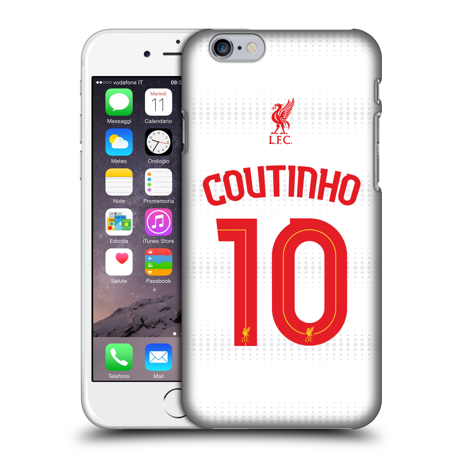 Liverpool FC LFC Shirt 2015/16-Away Shirt White Coutinho