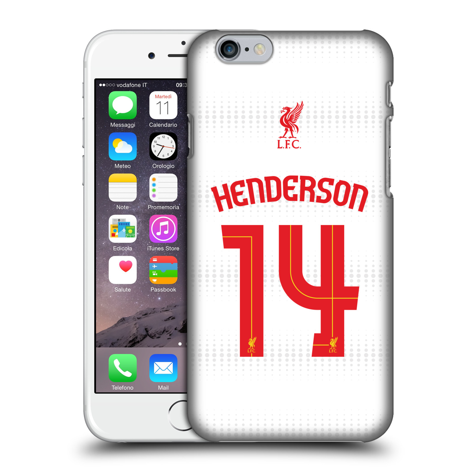 Liverpool FC LFC Shirt 2015/16-Away Shirt White Henderson