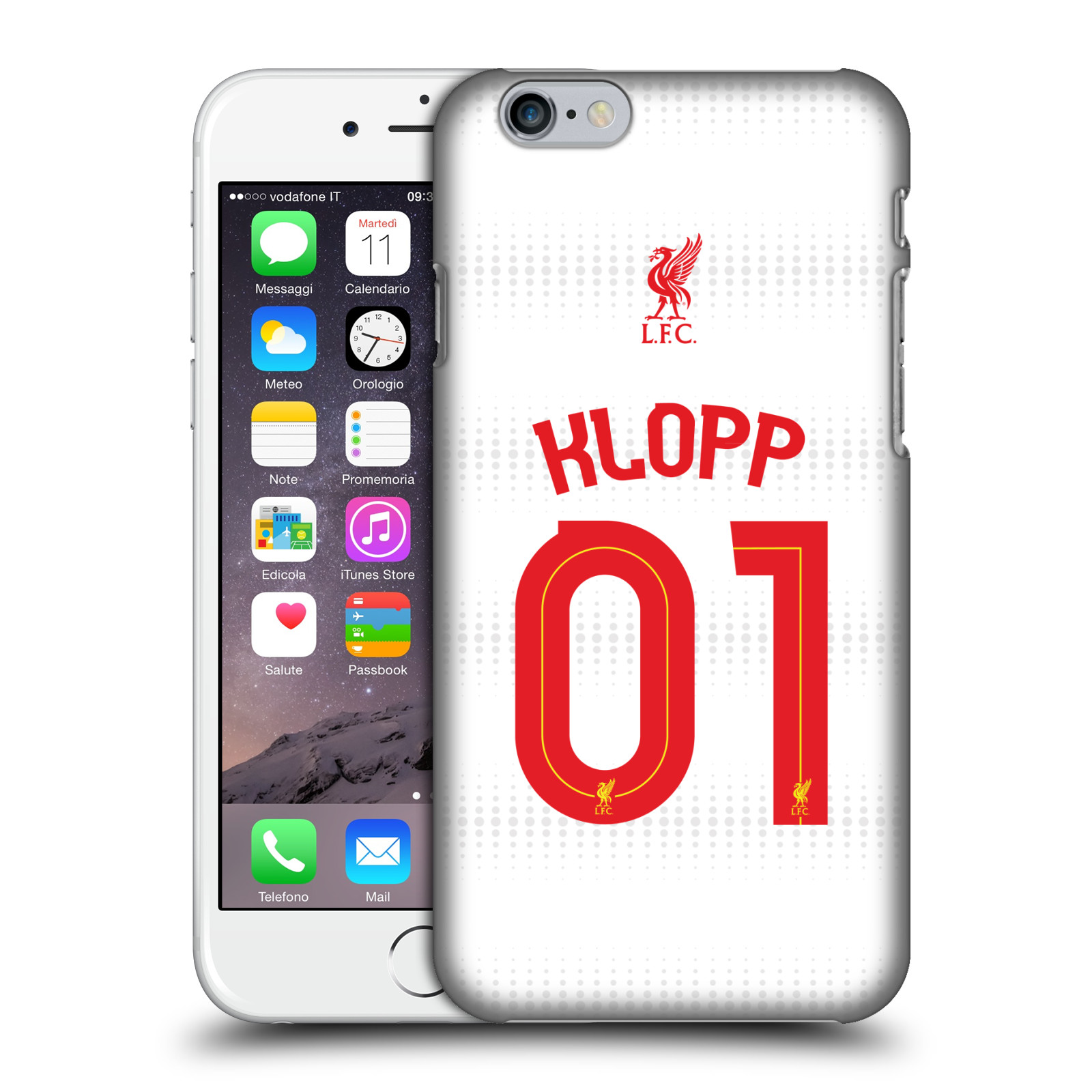 Liverpool FC LFC Shirt 2015/16-Away Shirt White Klopp