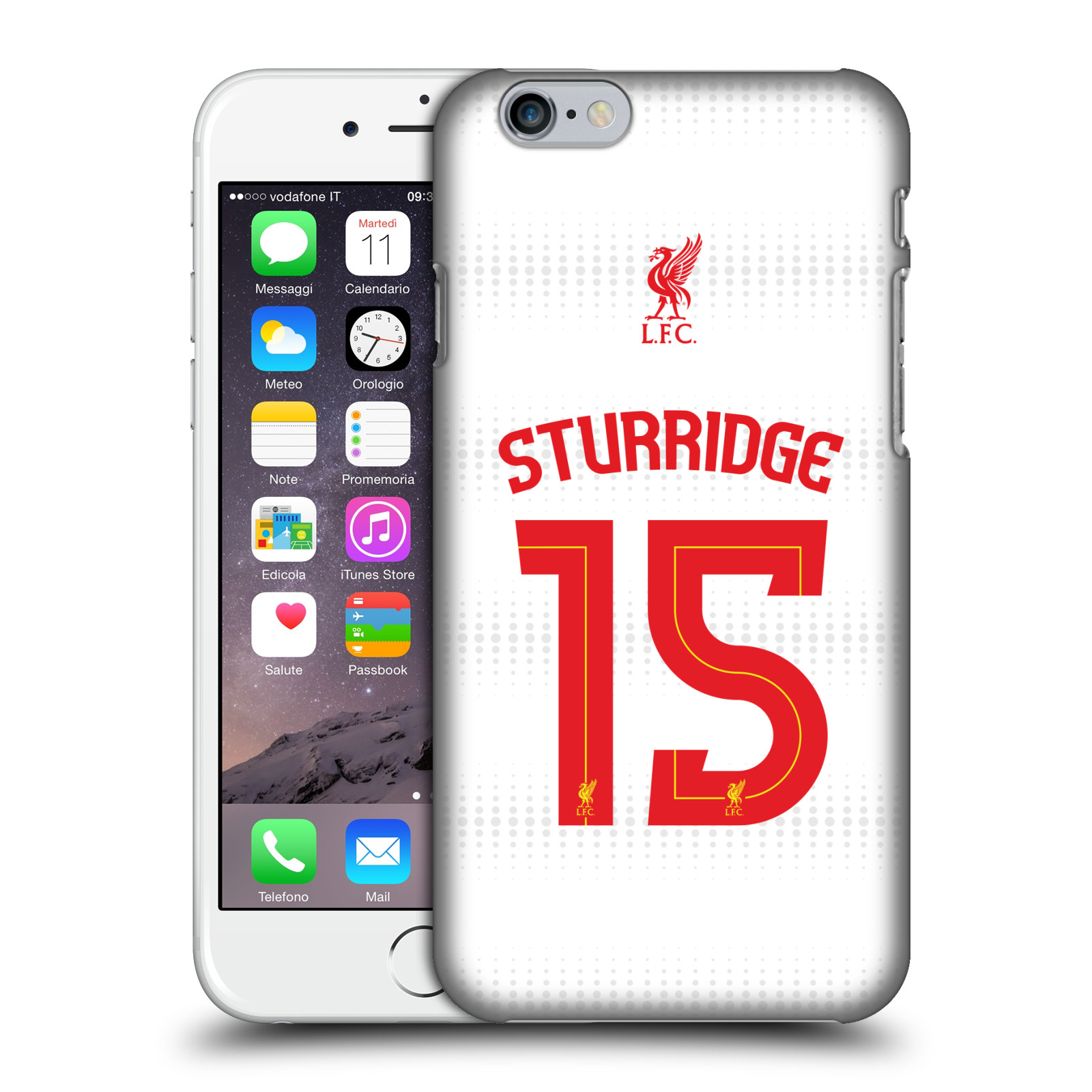Liverpool FC LFC Shirt 2015/16-Away Shirt White Sturridge