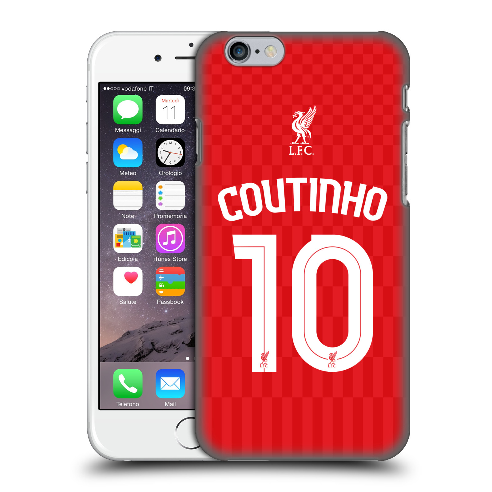 Liverpool FC LFC Shirt 2015/16-Home Shirt Red Coutinho