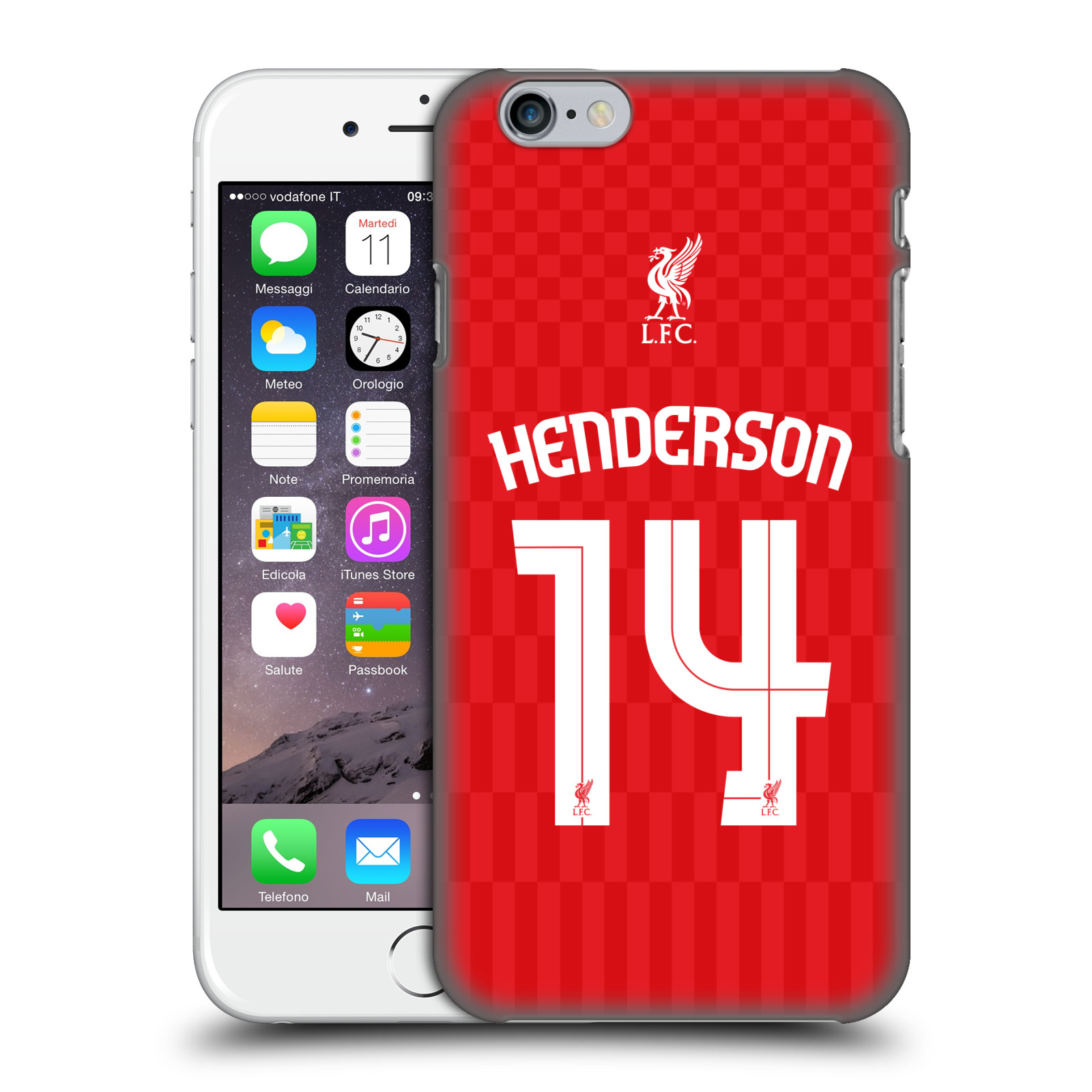 Liverpool FC LFC Shirt 2015/16-Home Shirt Red Henderson