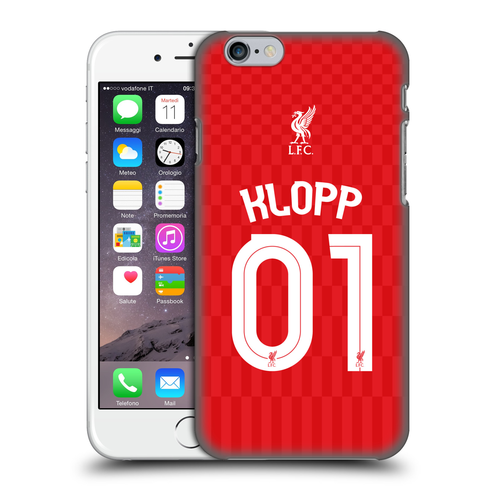 Liverpool FC LFC Shirt 2015/16-Home Shirt Red Klopp