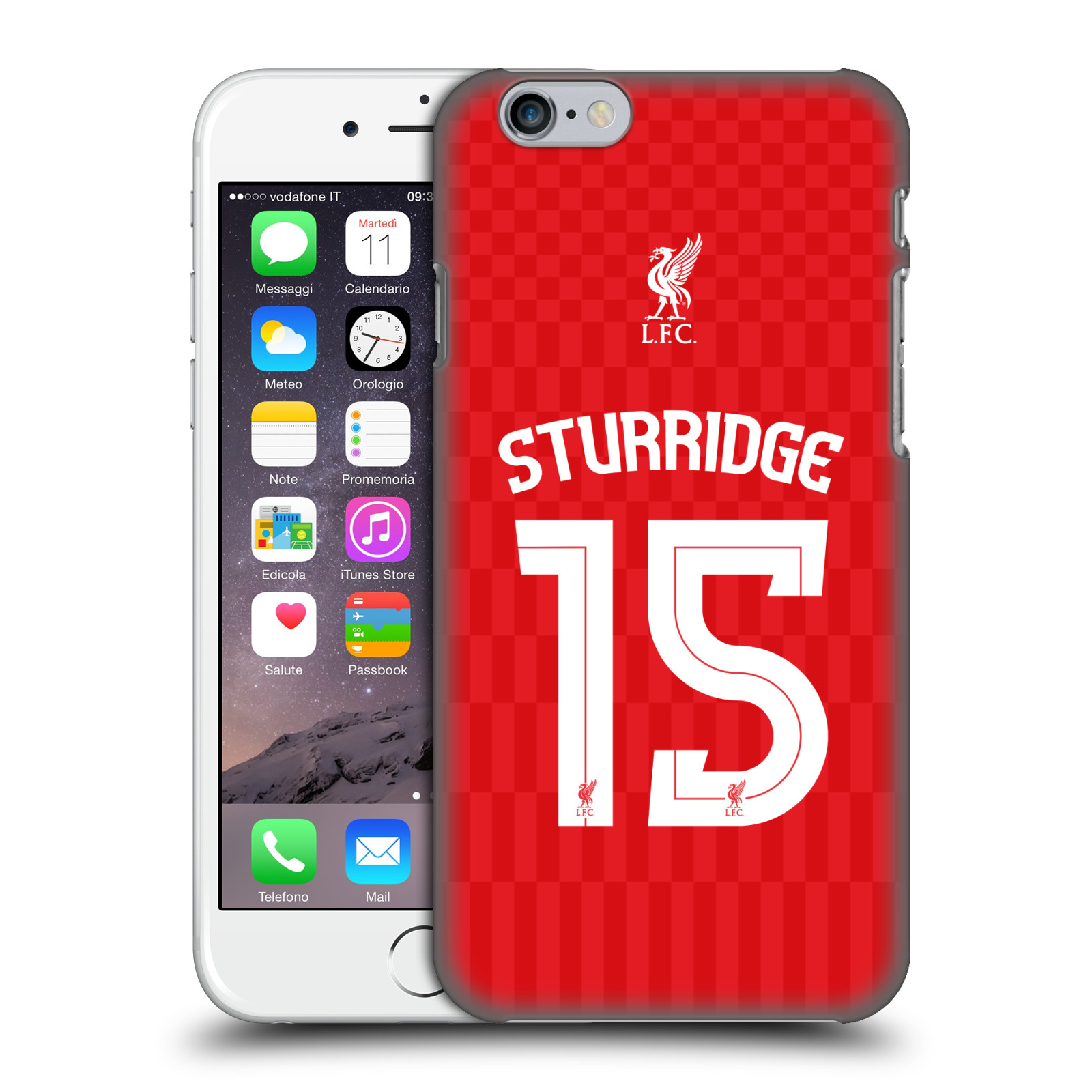 Liverpool FC LFC Shirt 2015/16-Home Shirt Red Sturridge