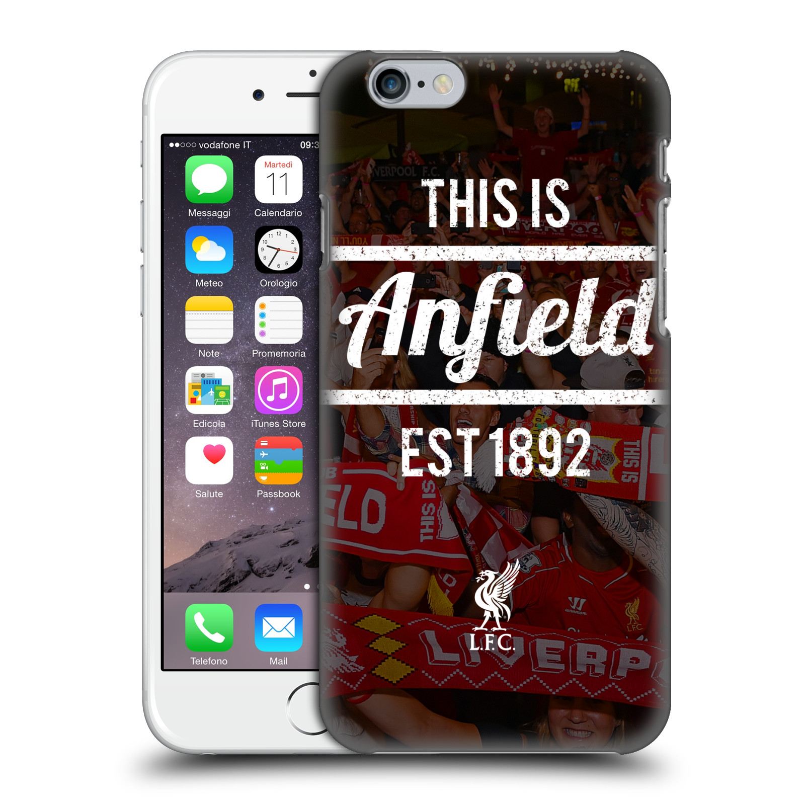 Liverpool FC LFC This Is Anfield-Black 2
