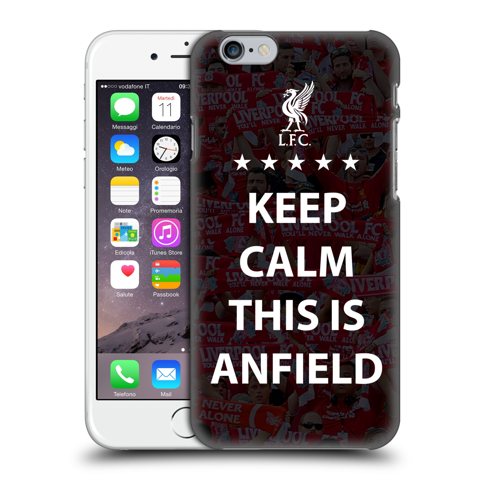 Liverpool FC LFC This Is Anfield-Keep Calm Black