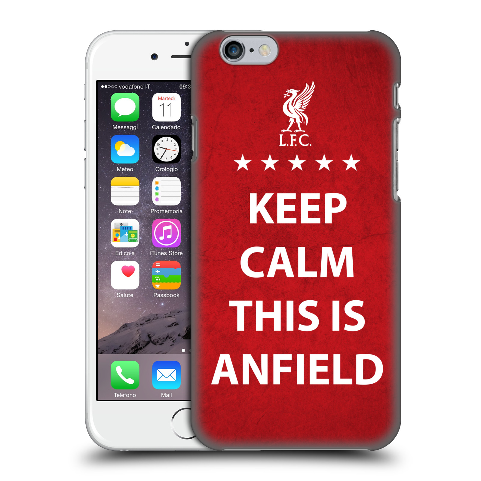 Liverpool FC LFC This Is Anfield-Keep Calm Red