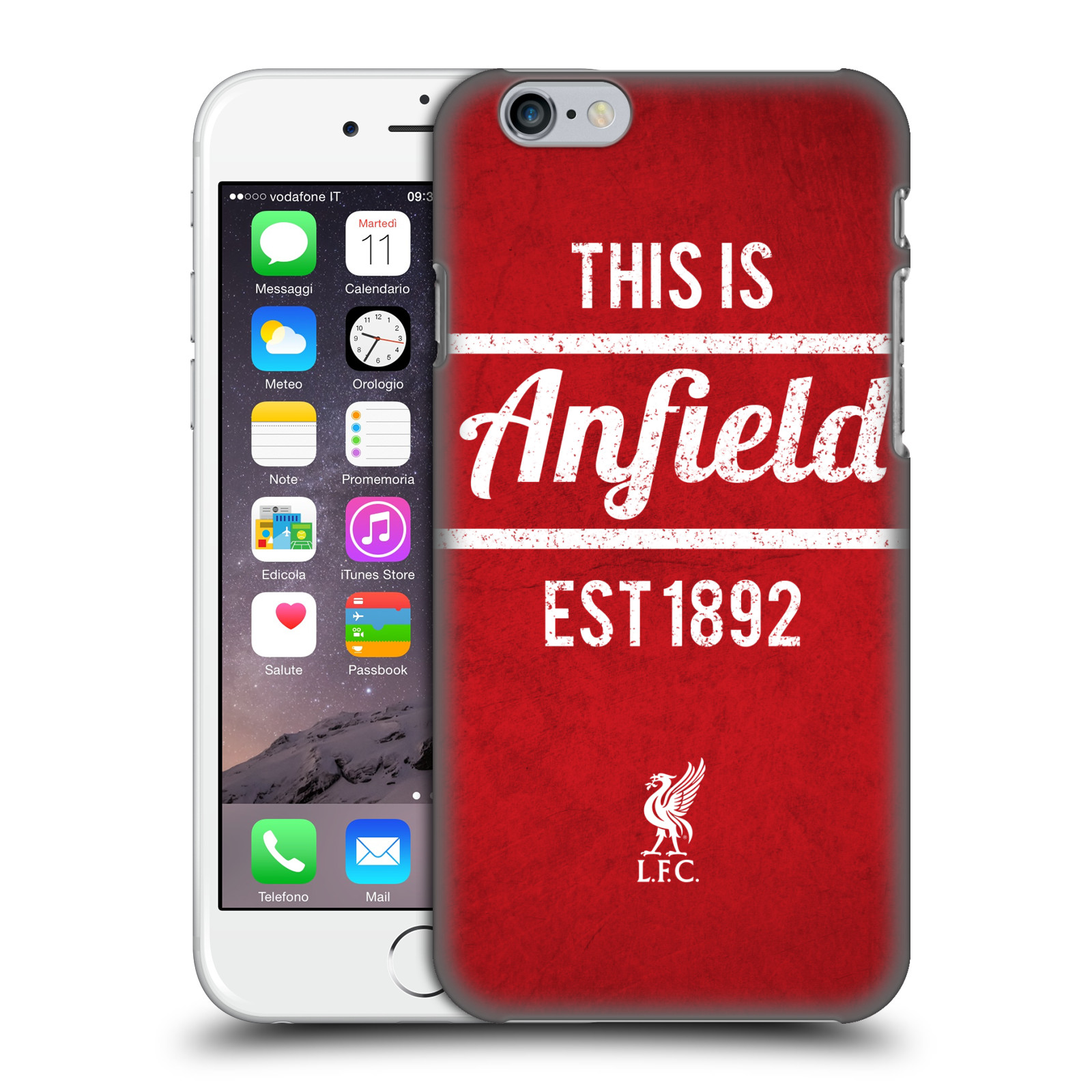 Liverpool FC LFC This Is Anfield-Red 2