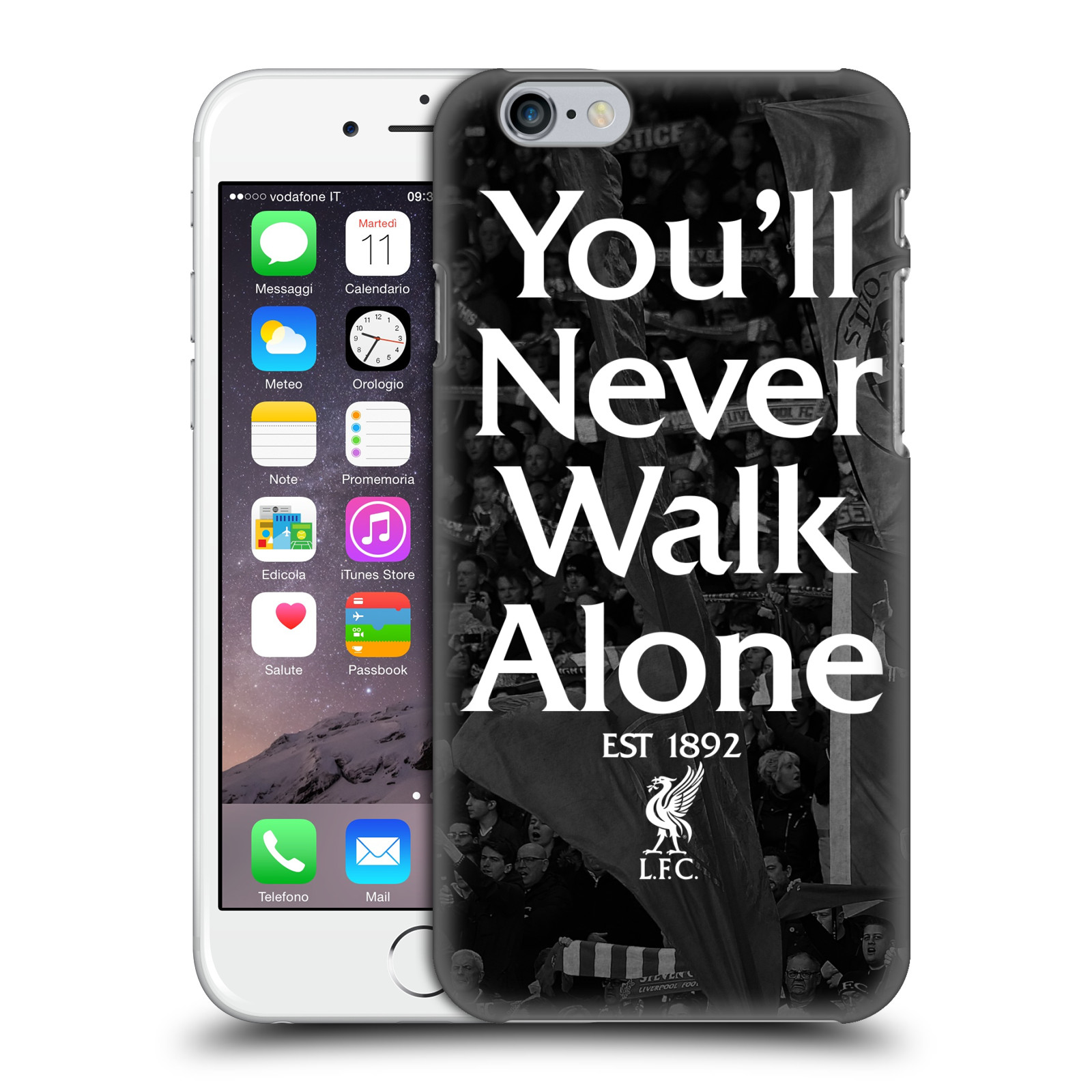 Liverpool FC LFC You'll Never Walk Alone-Kop 1
